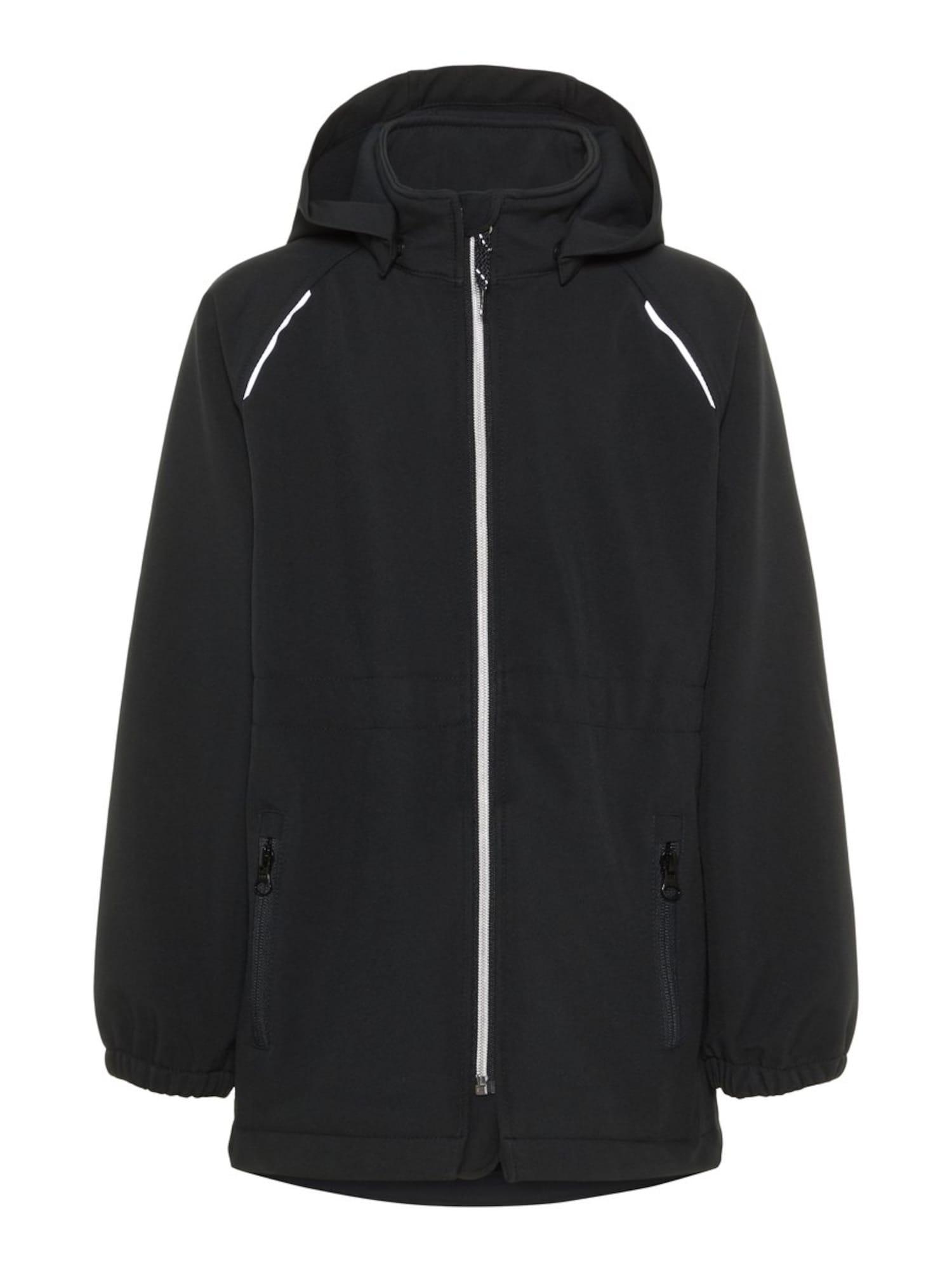 Přechodná bunda Alfa černá NAME IT