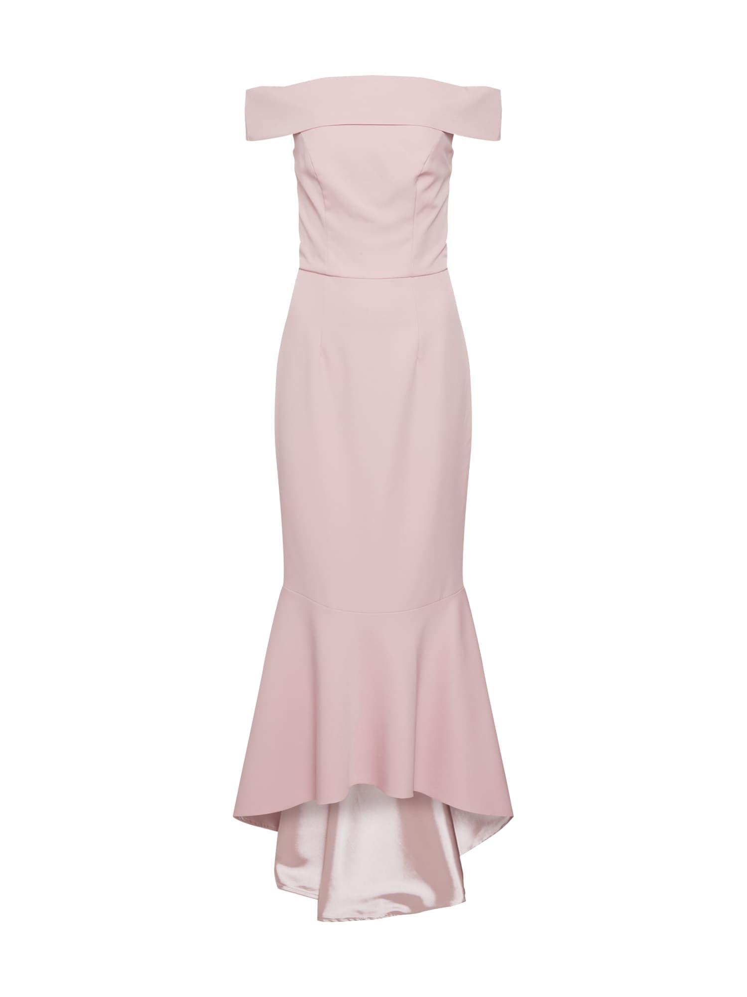 Společenské šaty Chi Chi Callie Dress bledě fialová Chi Chi London