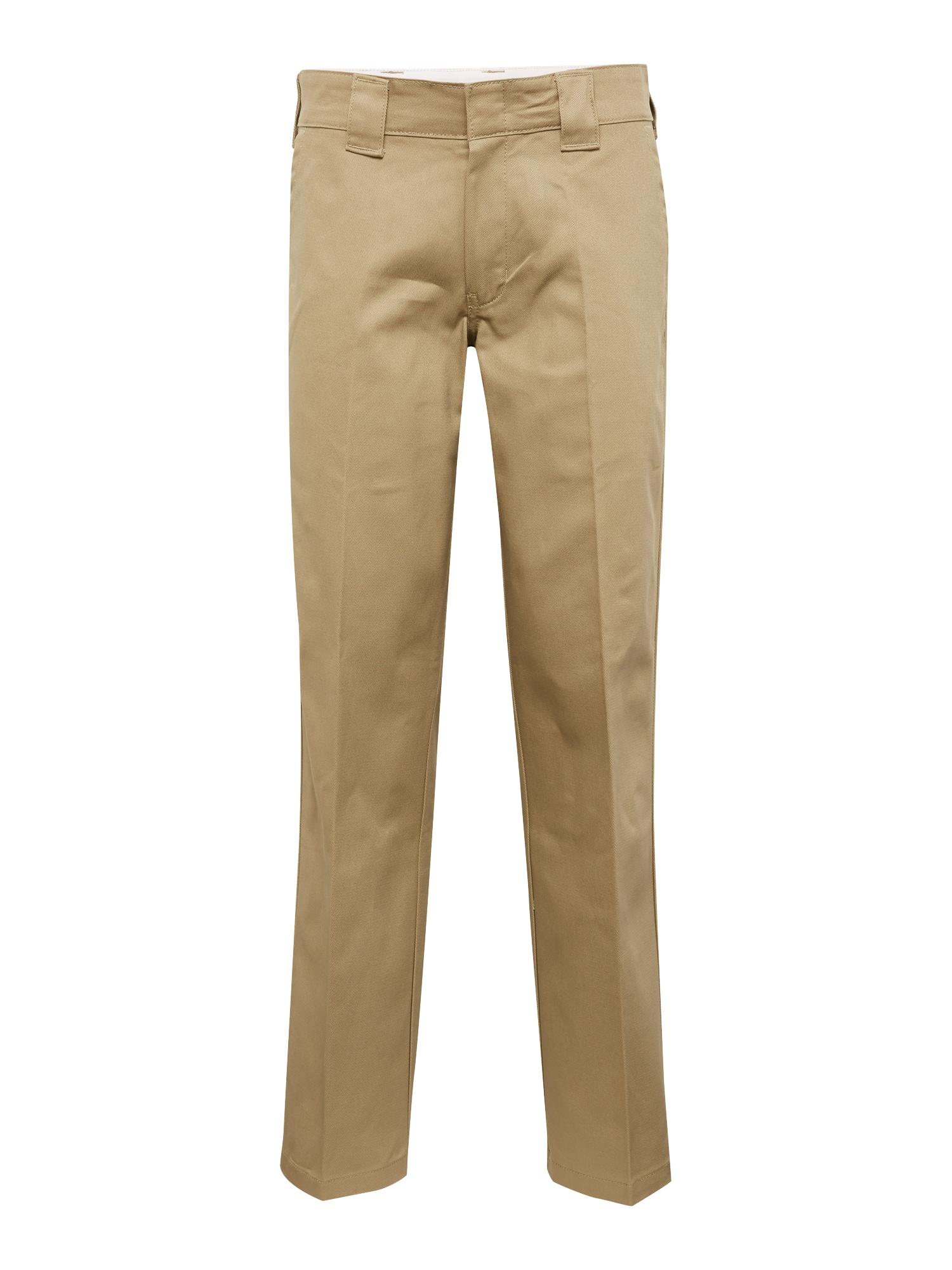 Kalhoty s puky Cotton 873 dunkelbeige DICKIES