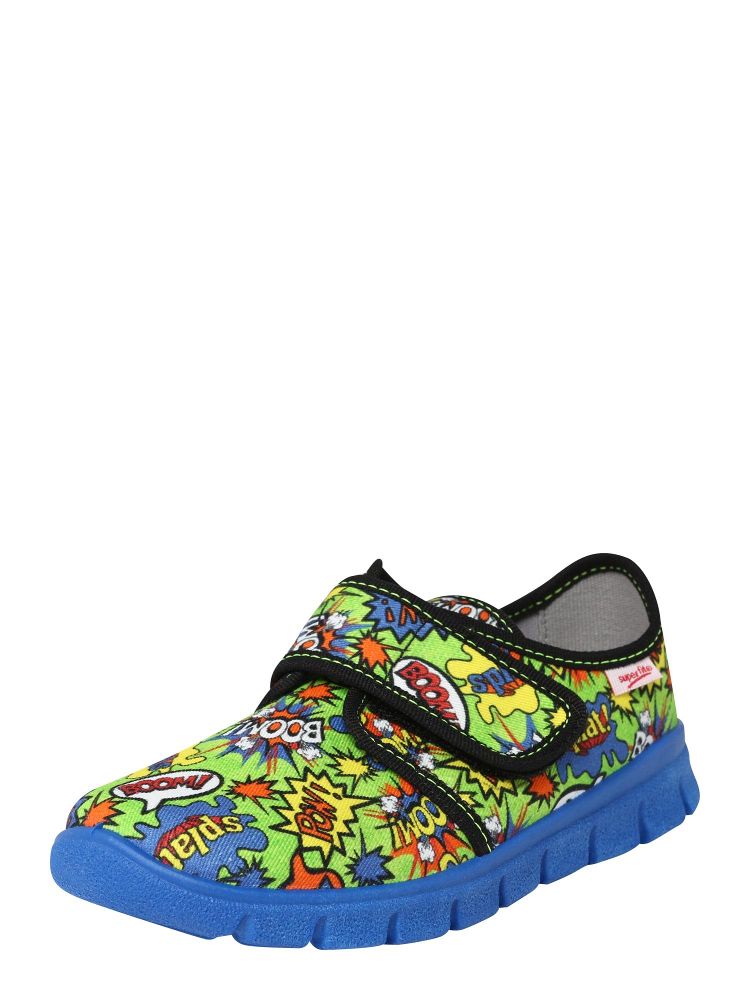 Pantofle BOBBY modrá mix barev SUPERFIT