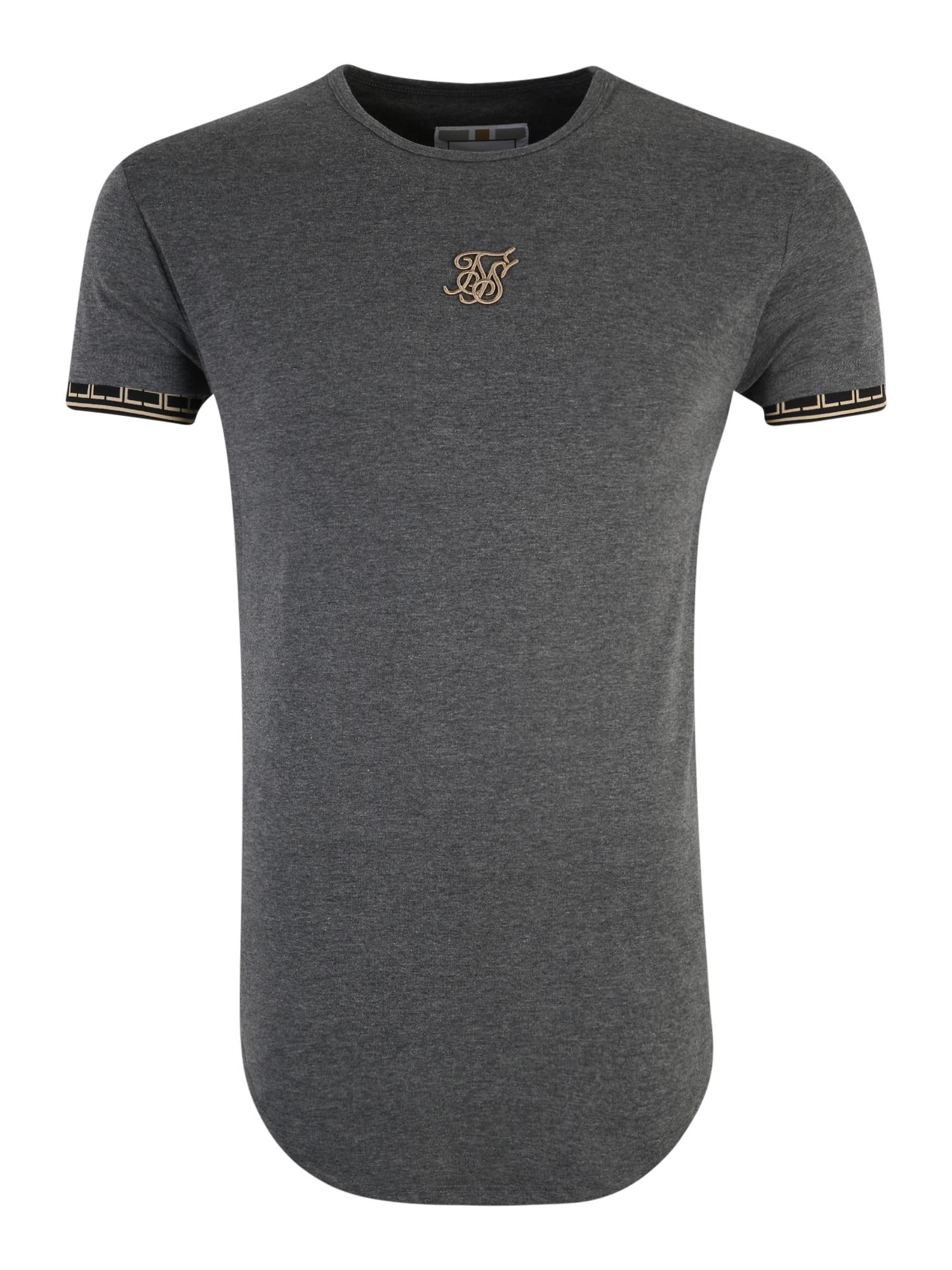 Shirt 'siksilk s/s cartel scope gym tee' | Sportbekleidung > Sportshirts | SikSilk