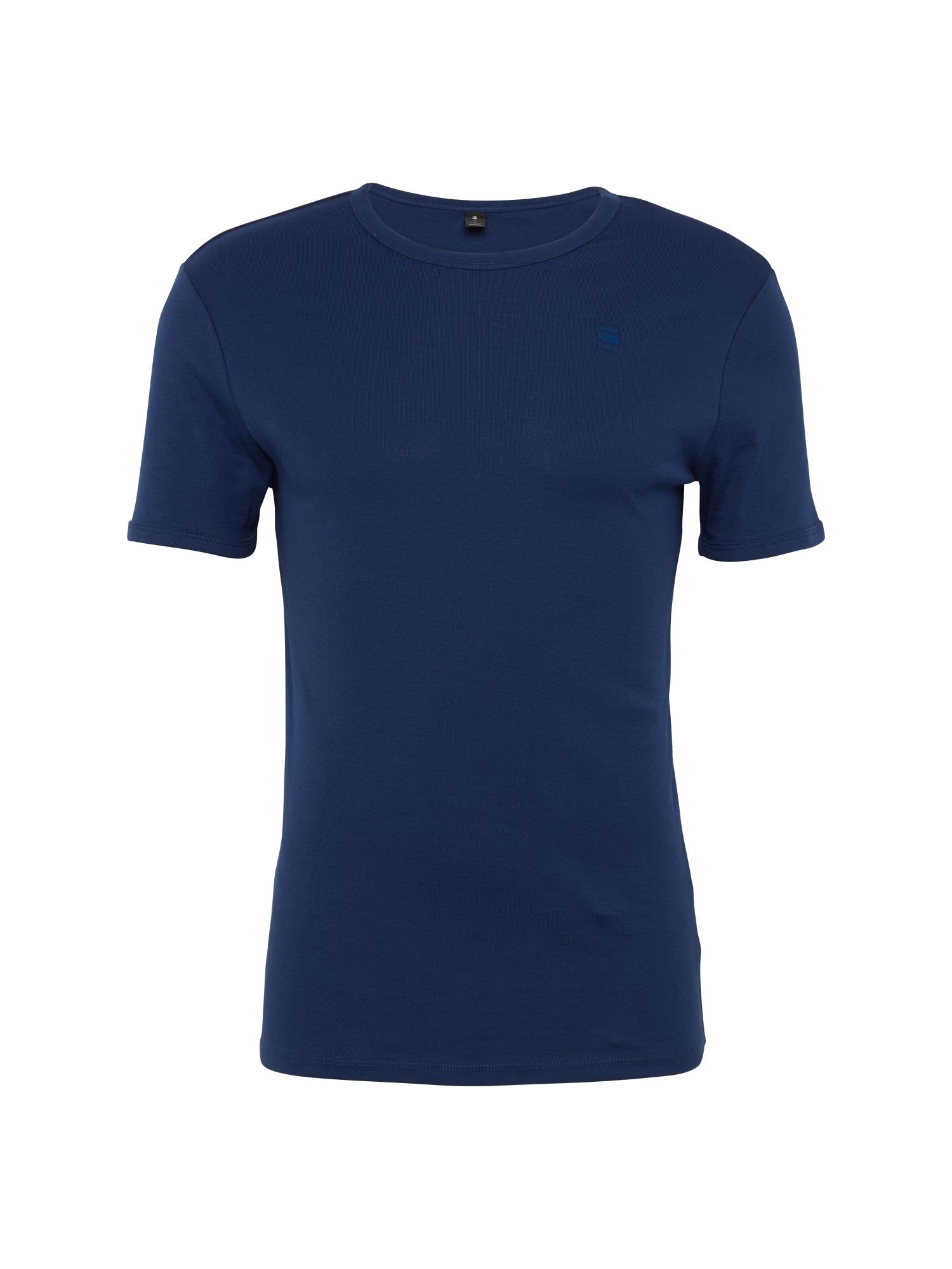 G-STAR RAW Heren Shirt Base blauw