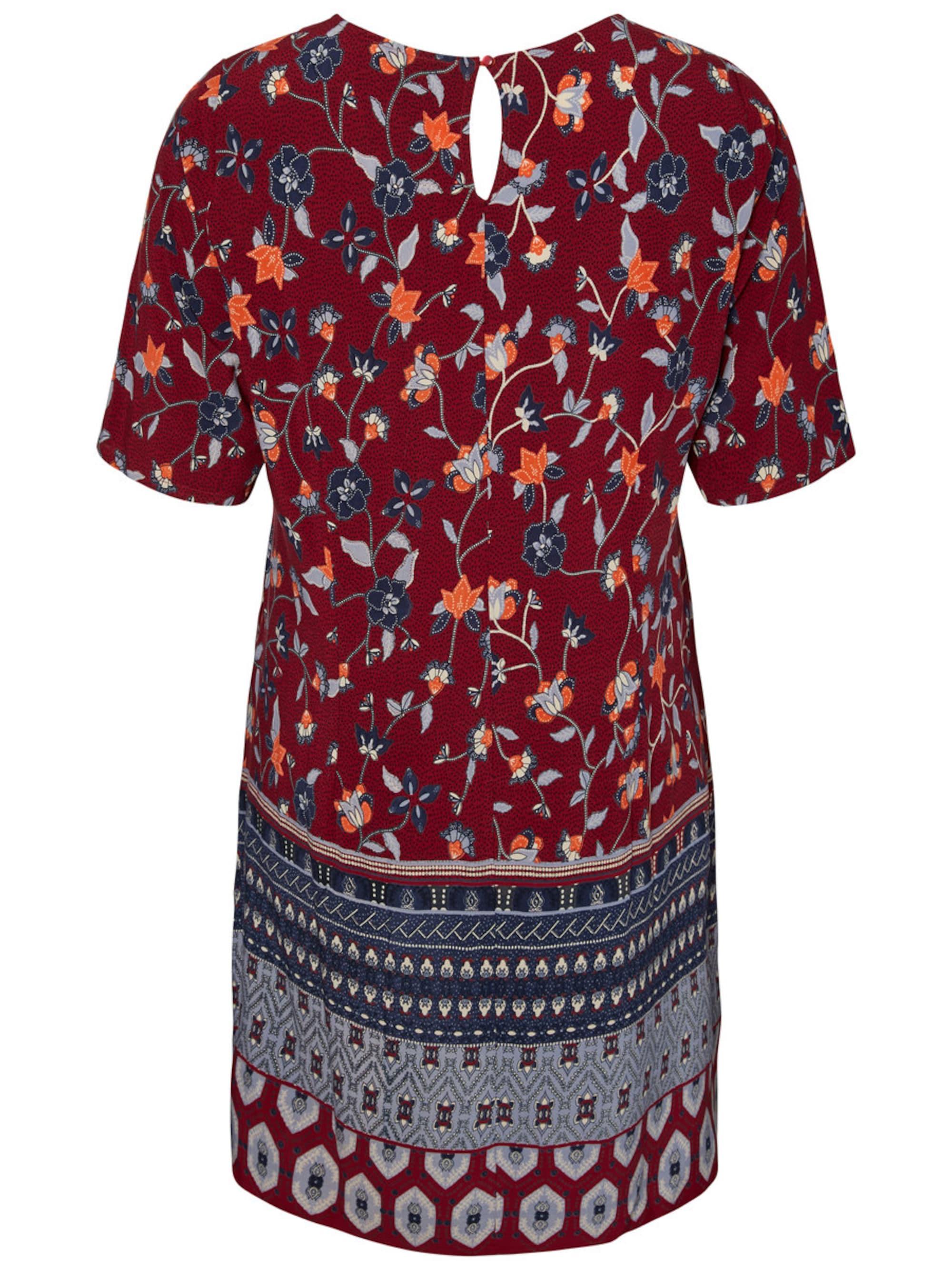 Junarose Sukienka  mieszane kolory / czerwony