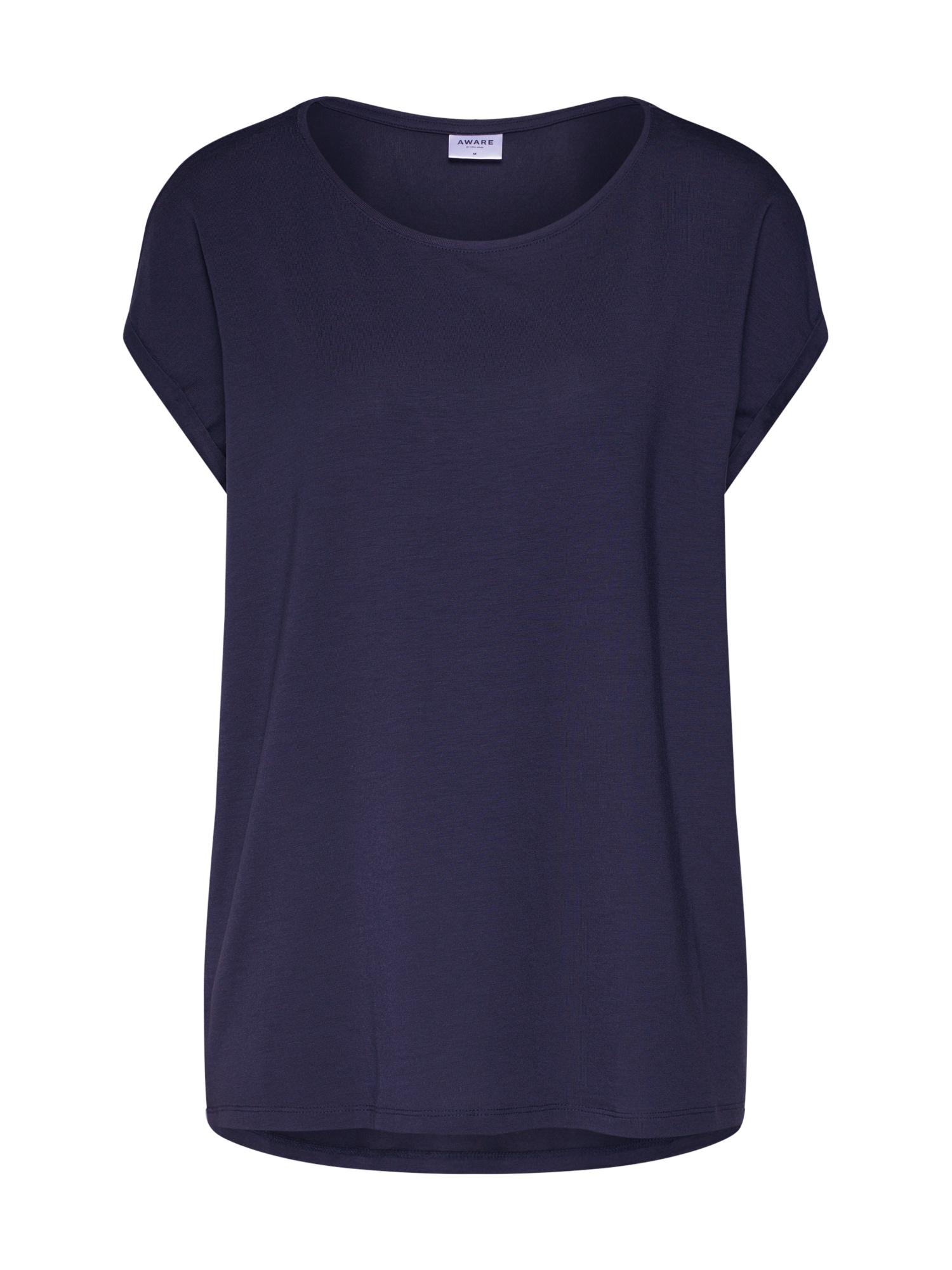 Oversized tričko Aware noční modrá VERO MODA
