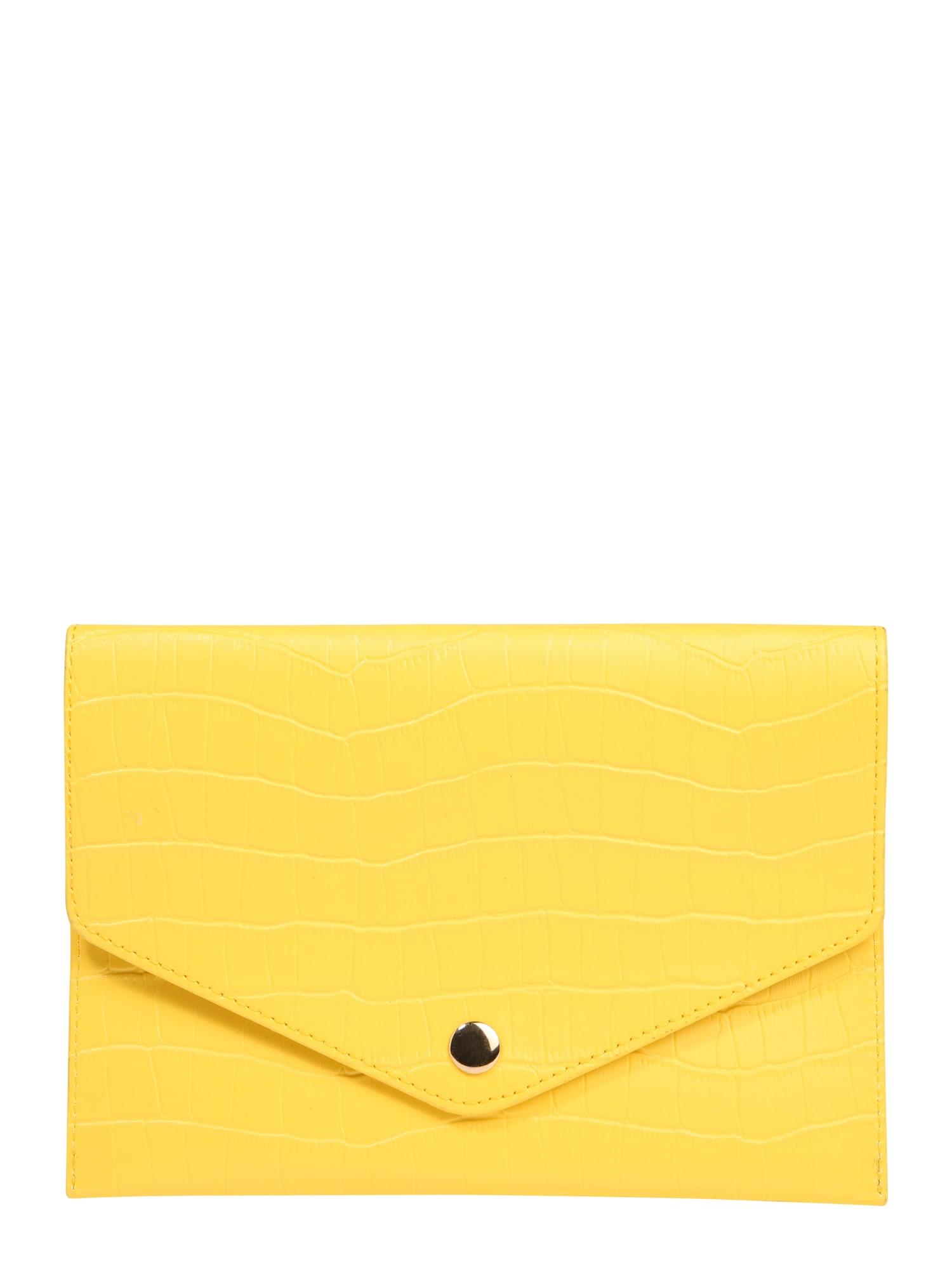 Ledvinka onlTERRY BELT BUMBAG ACC žlutá ONLY