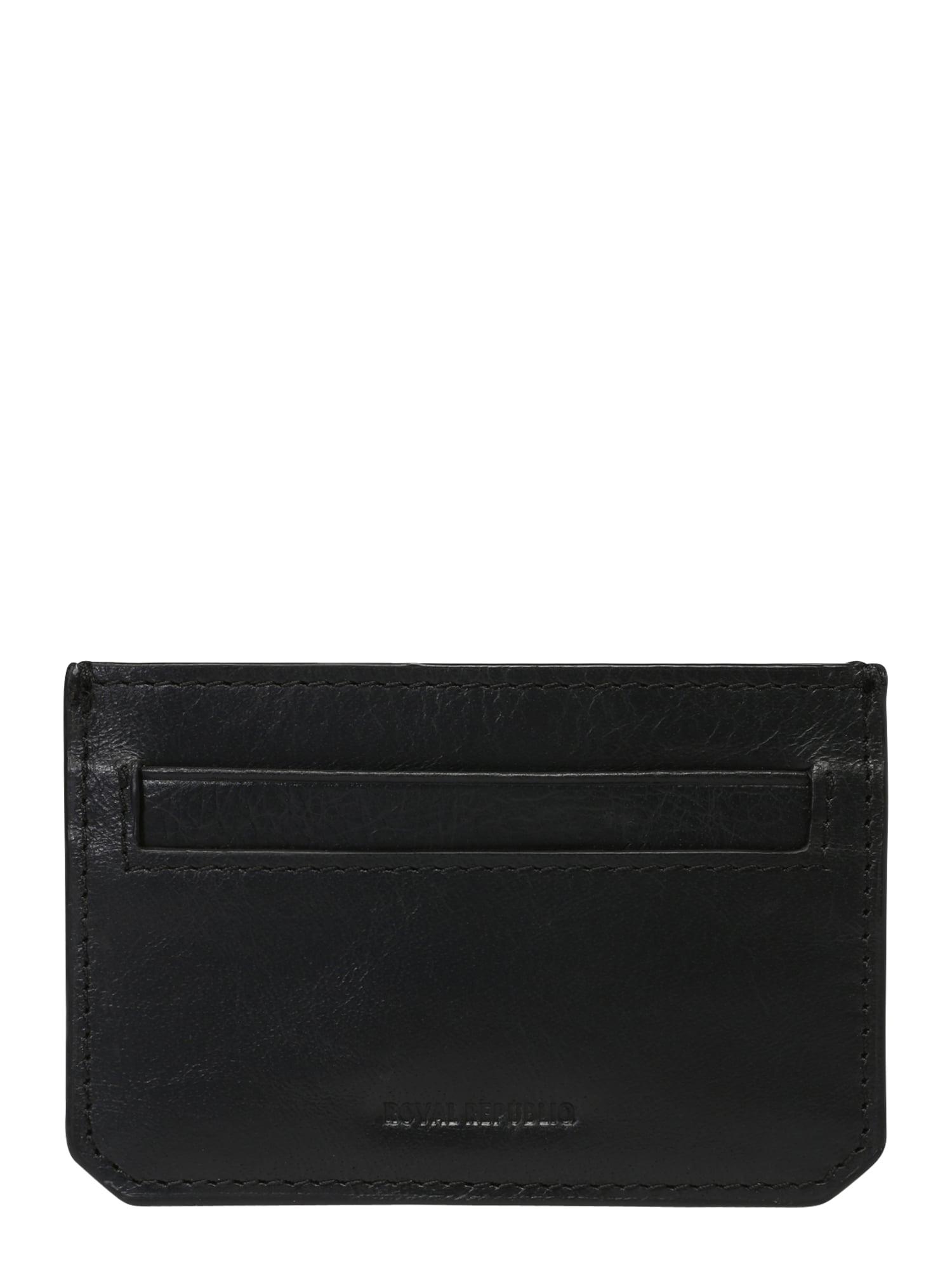 Peněženka THUNDER CARDHOLDER černá ROYAL REPUBLIQ