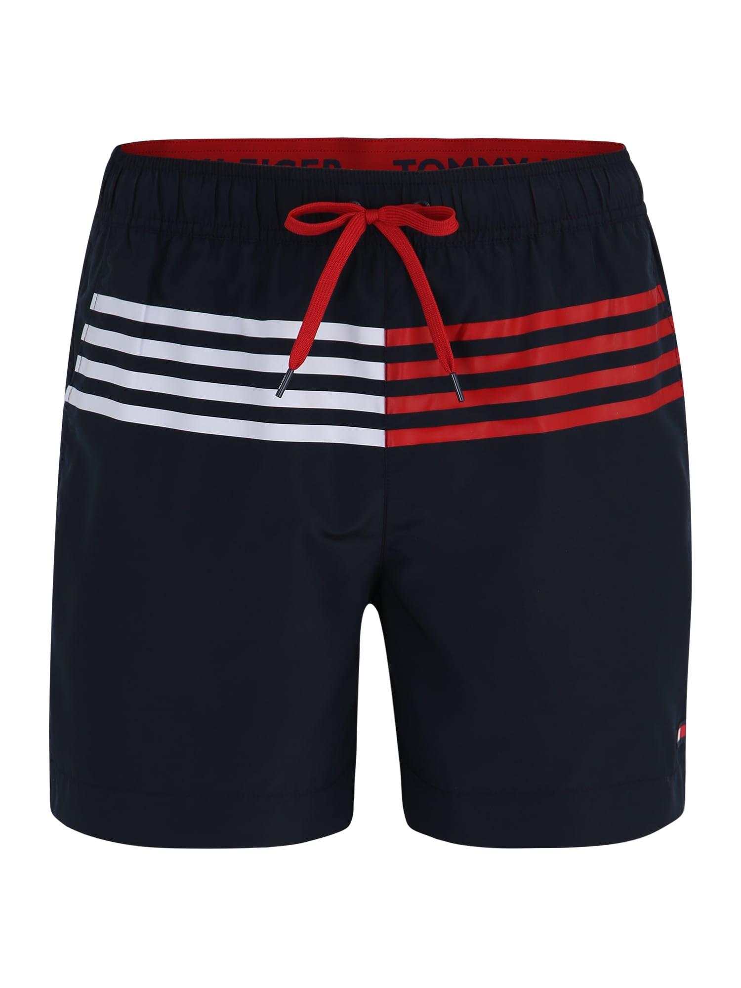 Plavecké šortky MEDIUM DRAWSTRING noční modrá Tommy Hilfiger Underwear