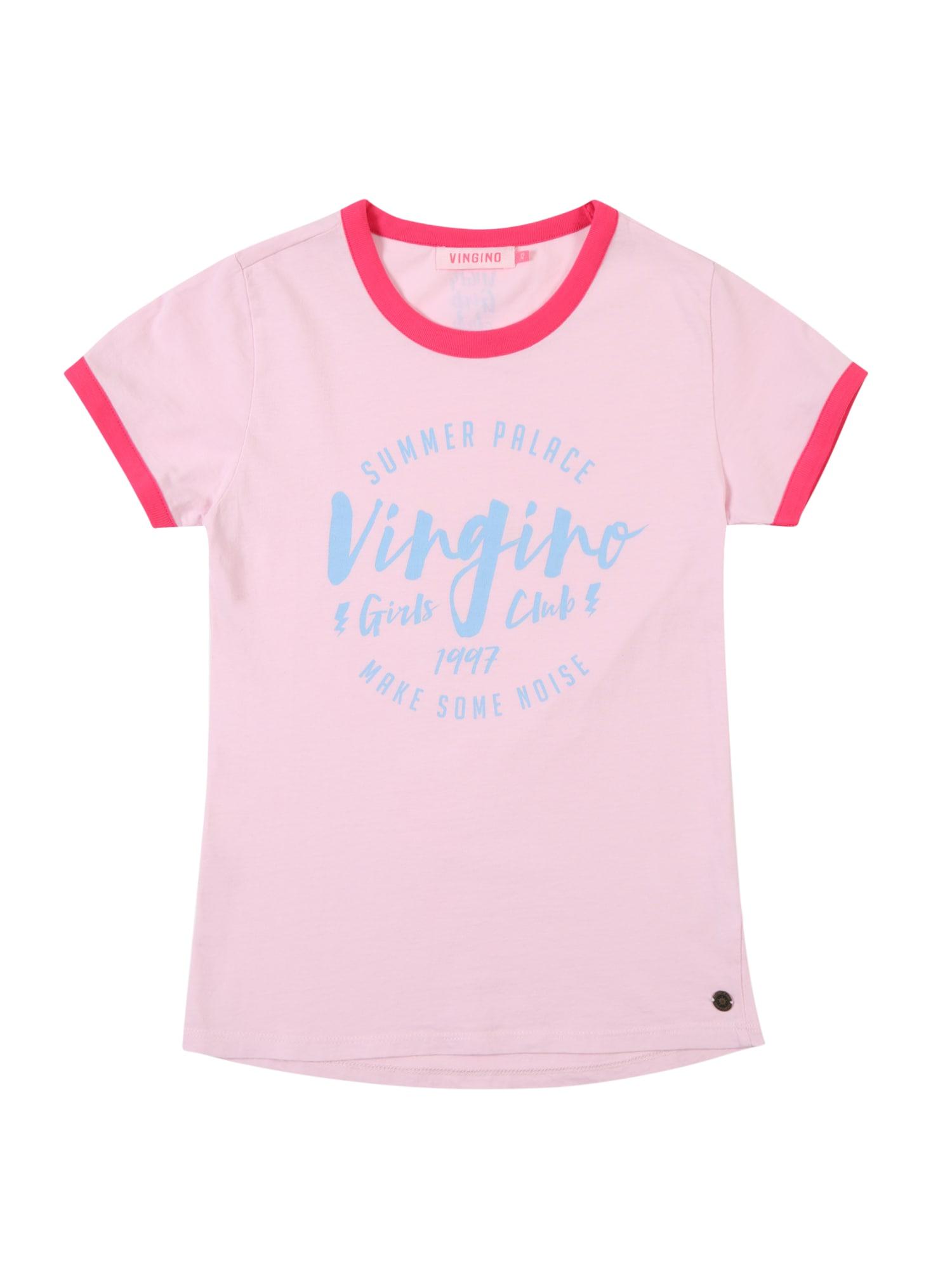 Tričko Igonne kouřově modrá růžová VINGINO