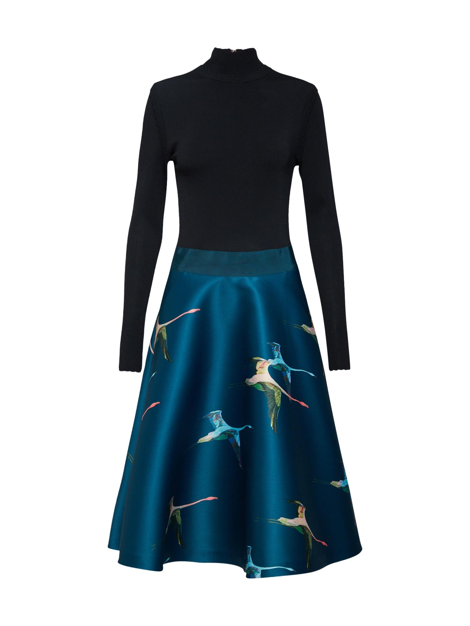 Šaty ABIISE tmavě modrá černá Ted Baker
