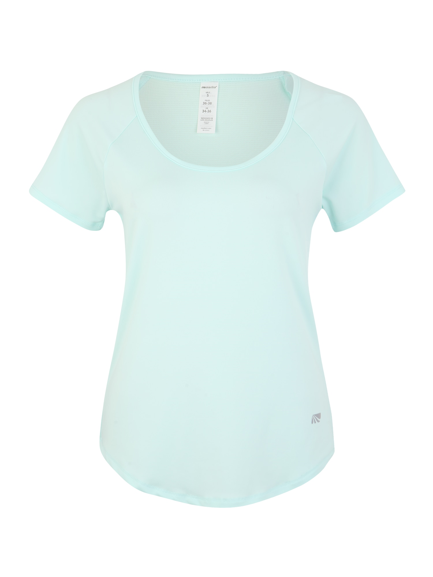 Funkční tričko HUNTINGTON TEE aqua modrá Marika