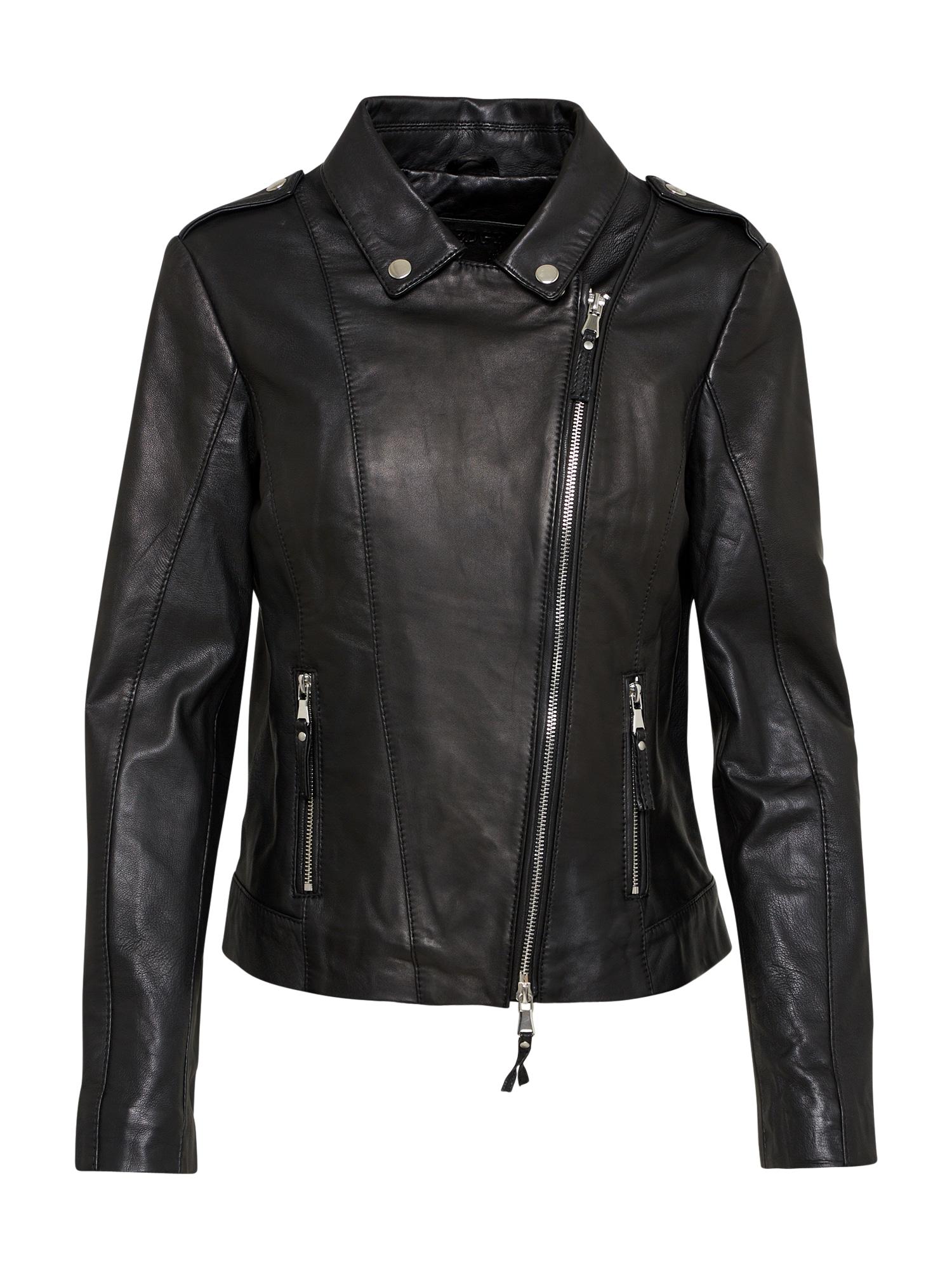 Přechodná bunda BEgrete černá BE EDGY
