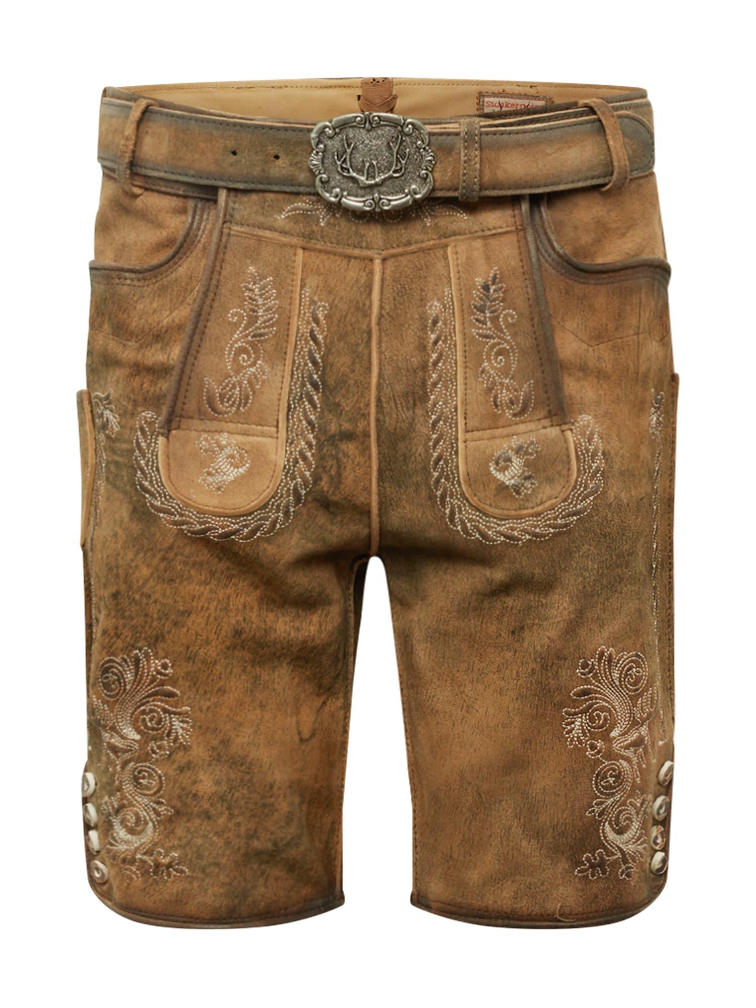 Krojové kalhoty Thomas 2 světle béžová STOCKERPOINT