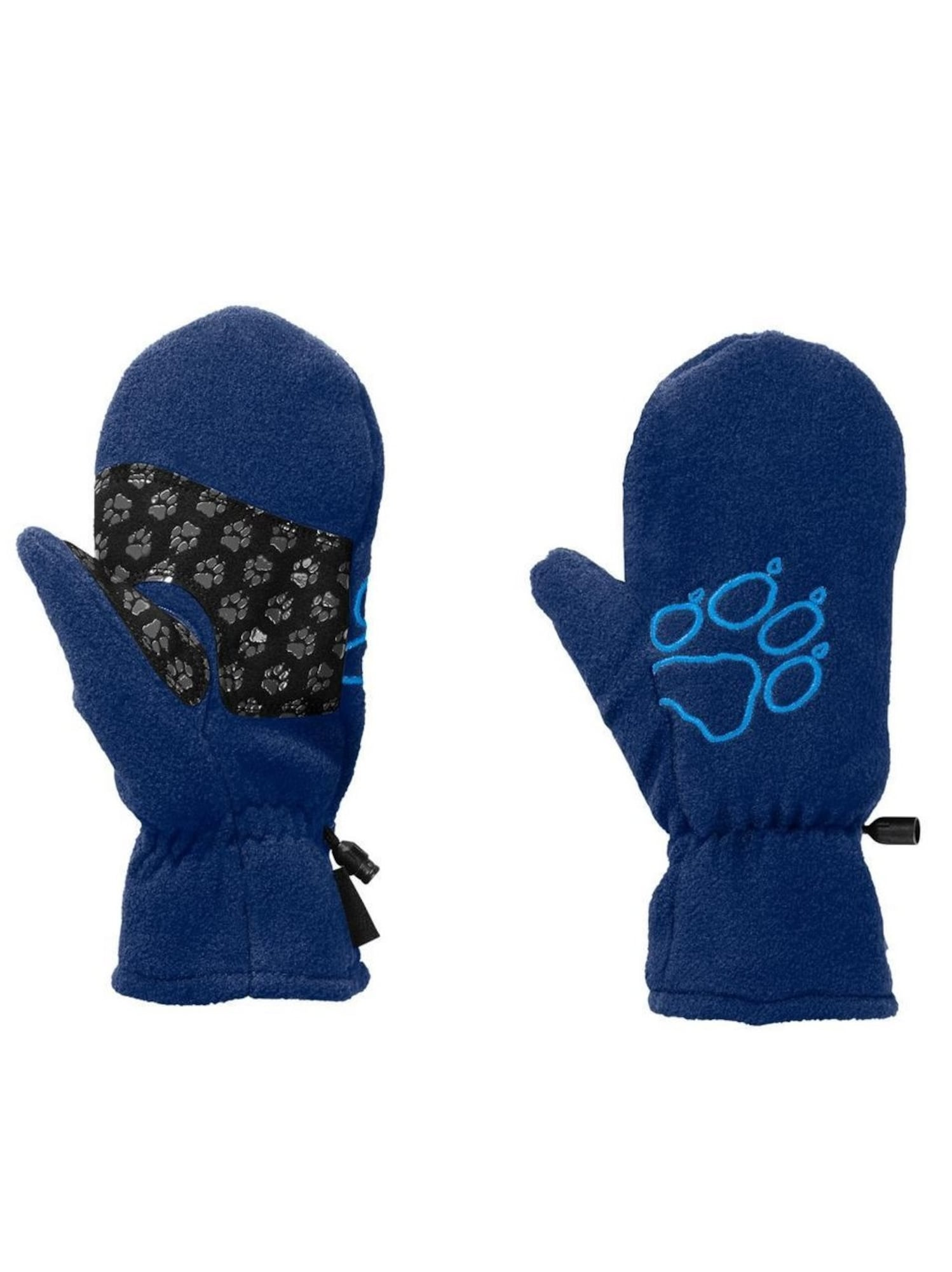 JACK WOLFSKIN, Jongens Sporthandschoenen, blauw / zwart
