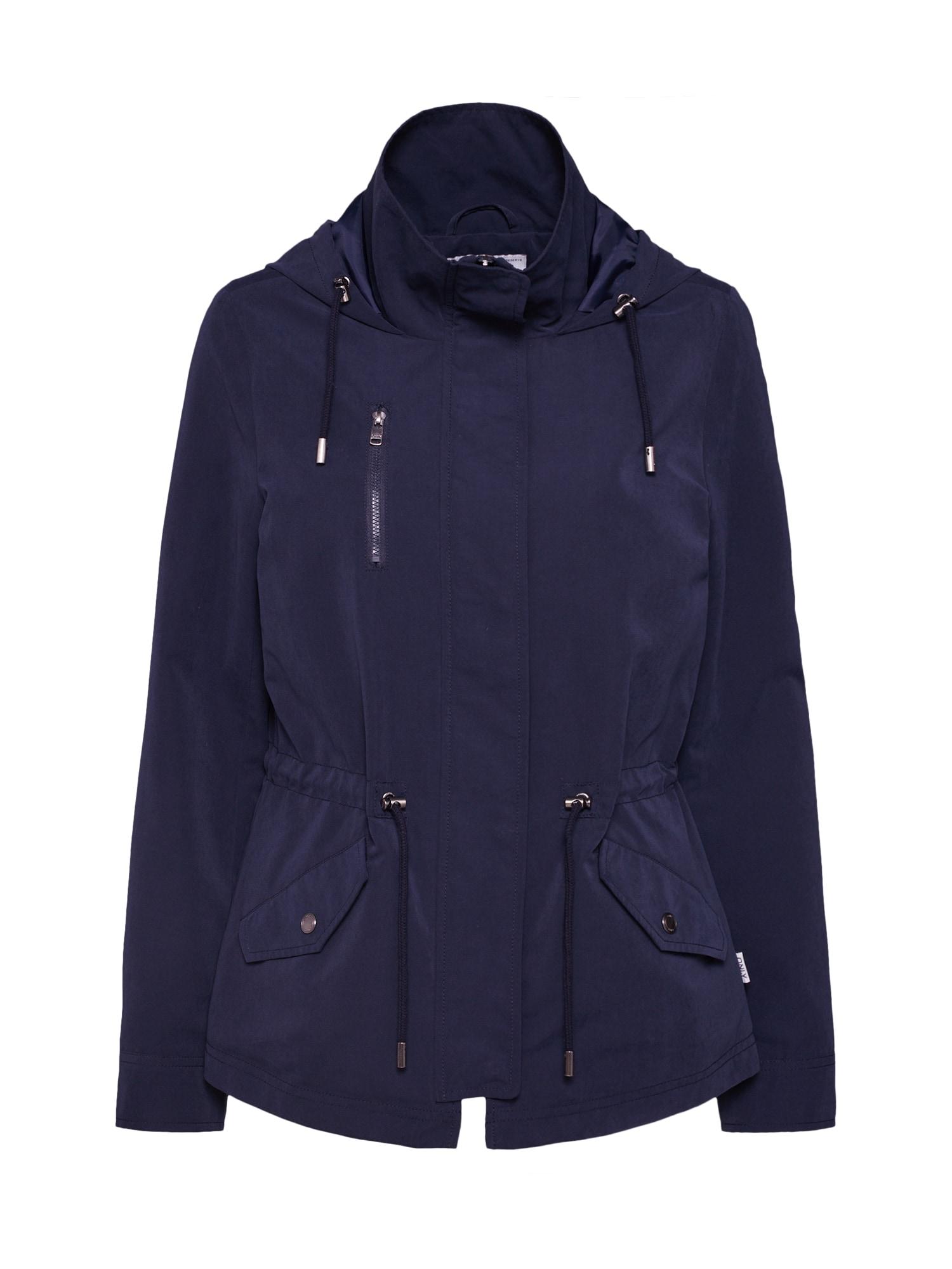 Přechodná bunda onlNEW STARLIGHT noční modrá ONLY