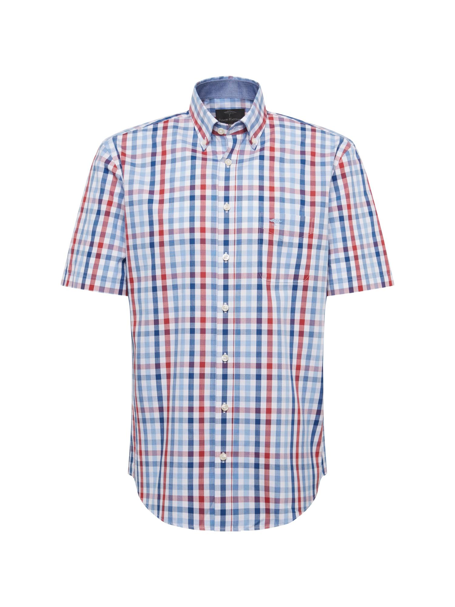 Košile modrá červená bílá FYNCH-HATTON