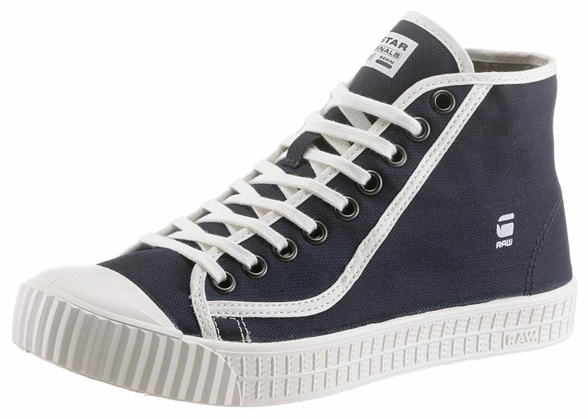 G-STAR RAW Heren Sneakers hoog navy