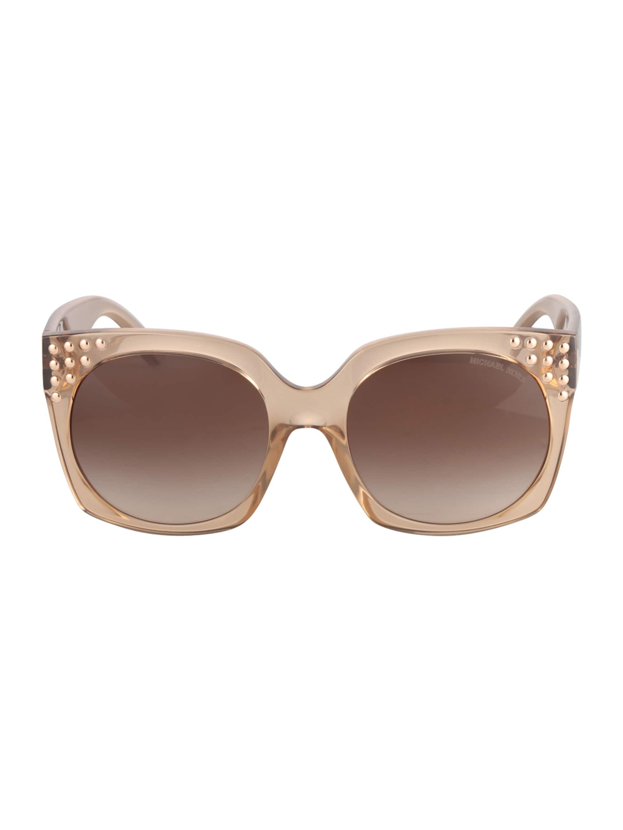 Michael Kors Okulary przeciwsłoneczne 'DESTIN'  brązowy