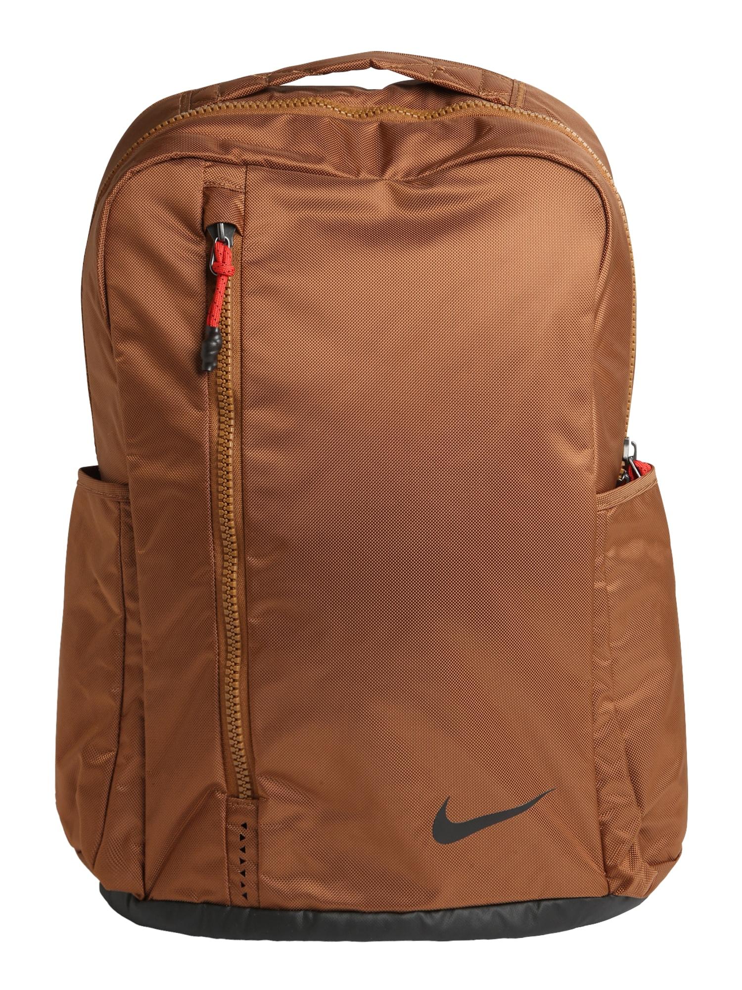 Sportovní batoh Nike Vapor Power 2.0 světle hnědá černá NIKE