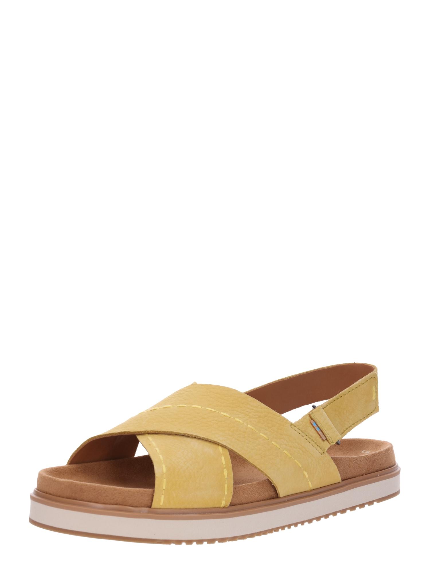 Sandály MARISA žlutá TOMS