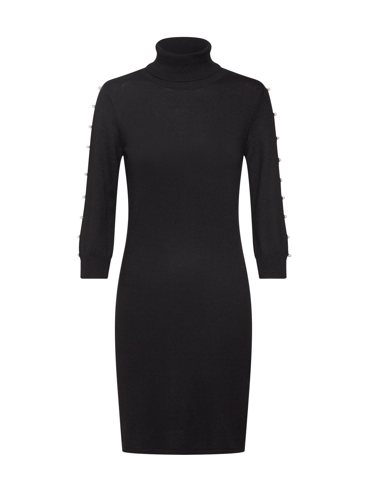 Úpletové šaty černá Mint&berry