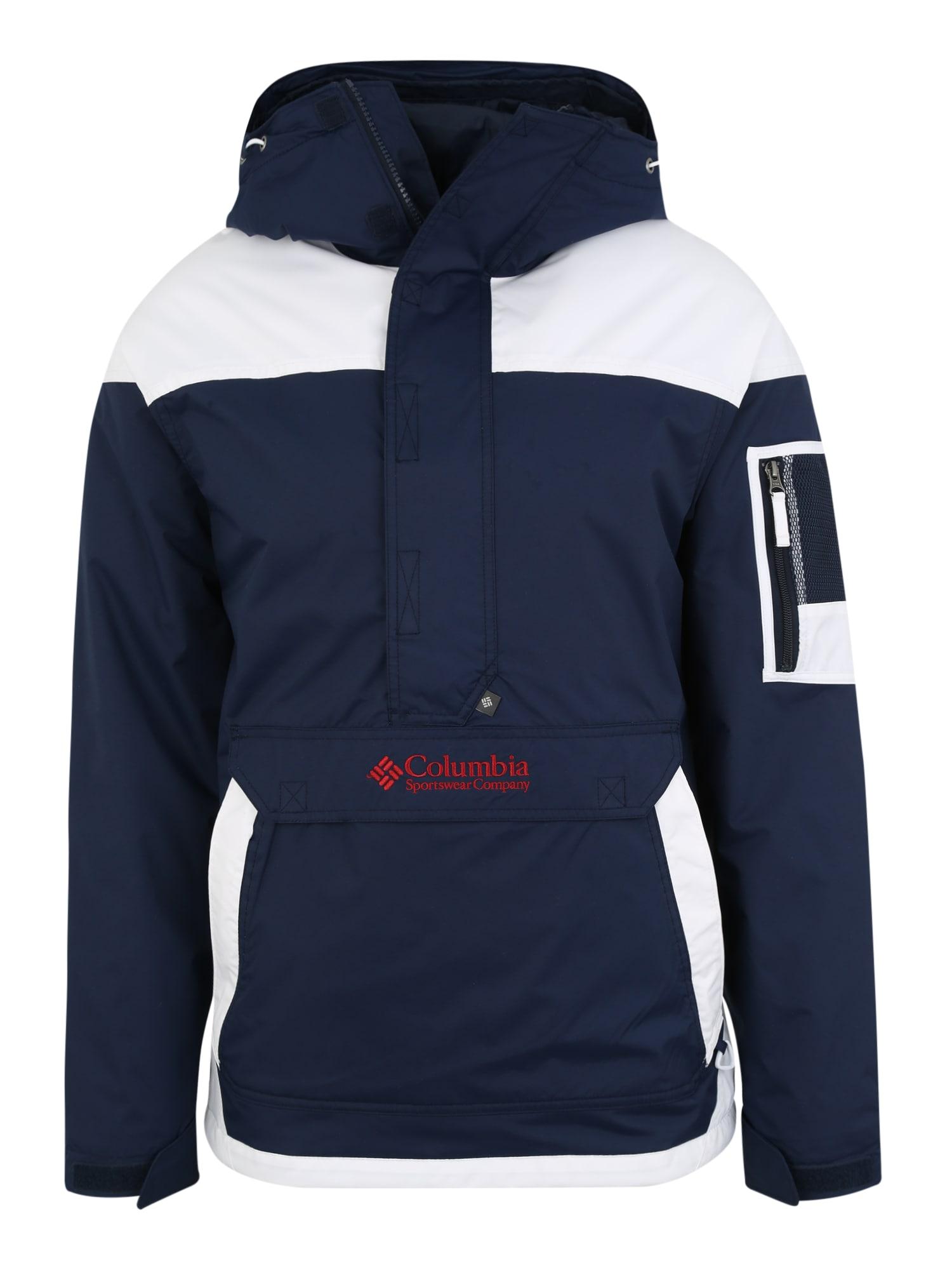 Outdoorová bunda Challenger námořnická modř bílá COLUMBIA