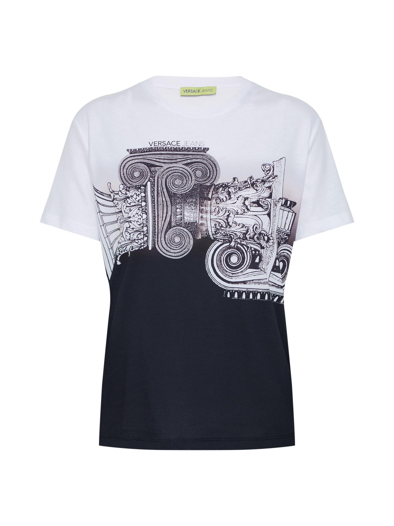Tričko TDM613 černá bílá Versace Jeans