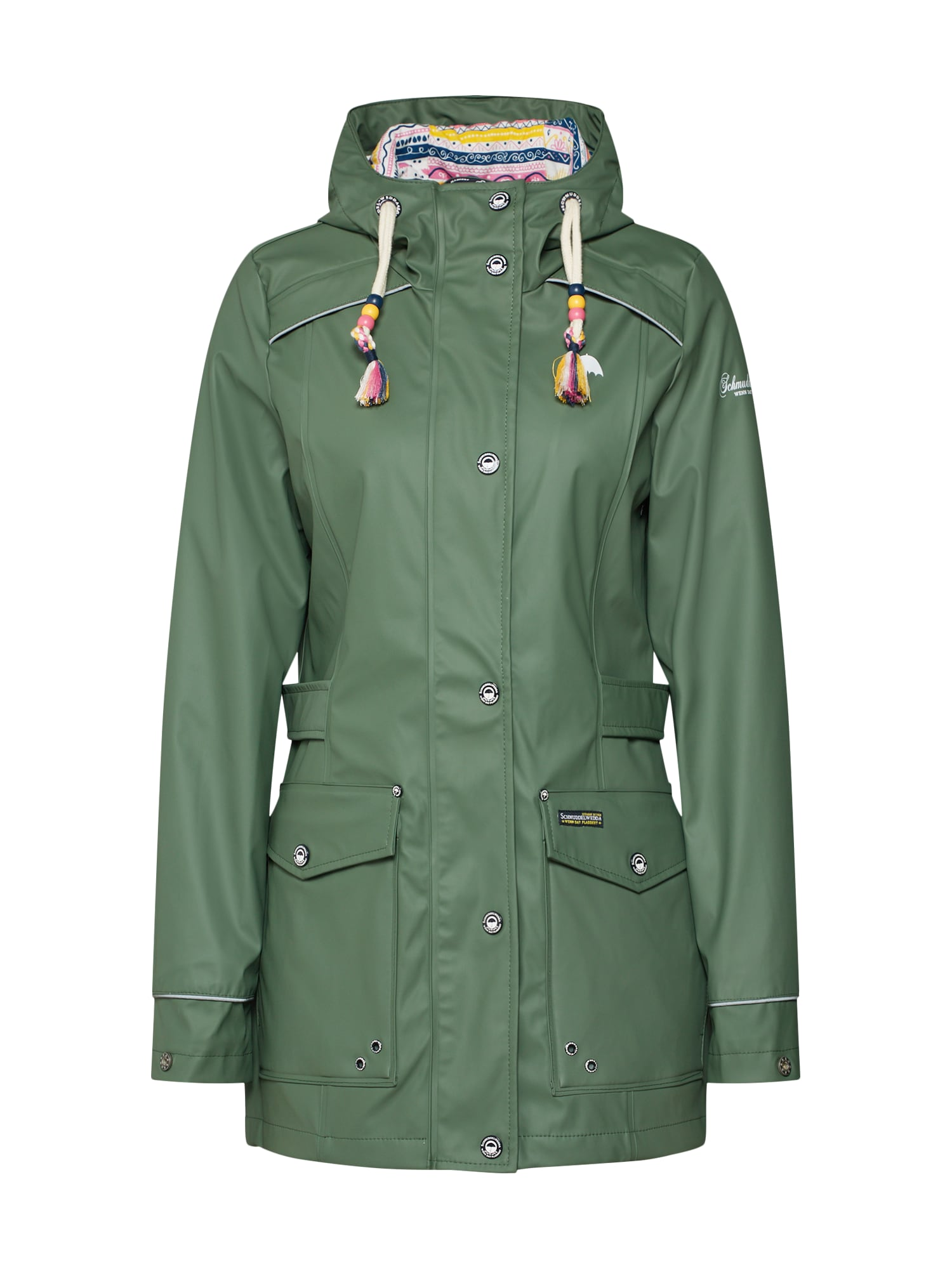 Přechodná bunda zelená Schmuddelwedda