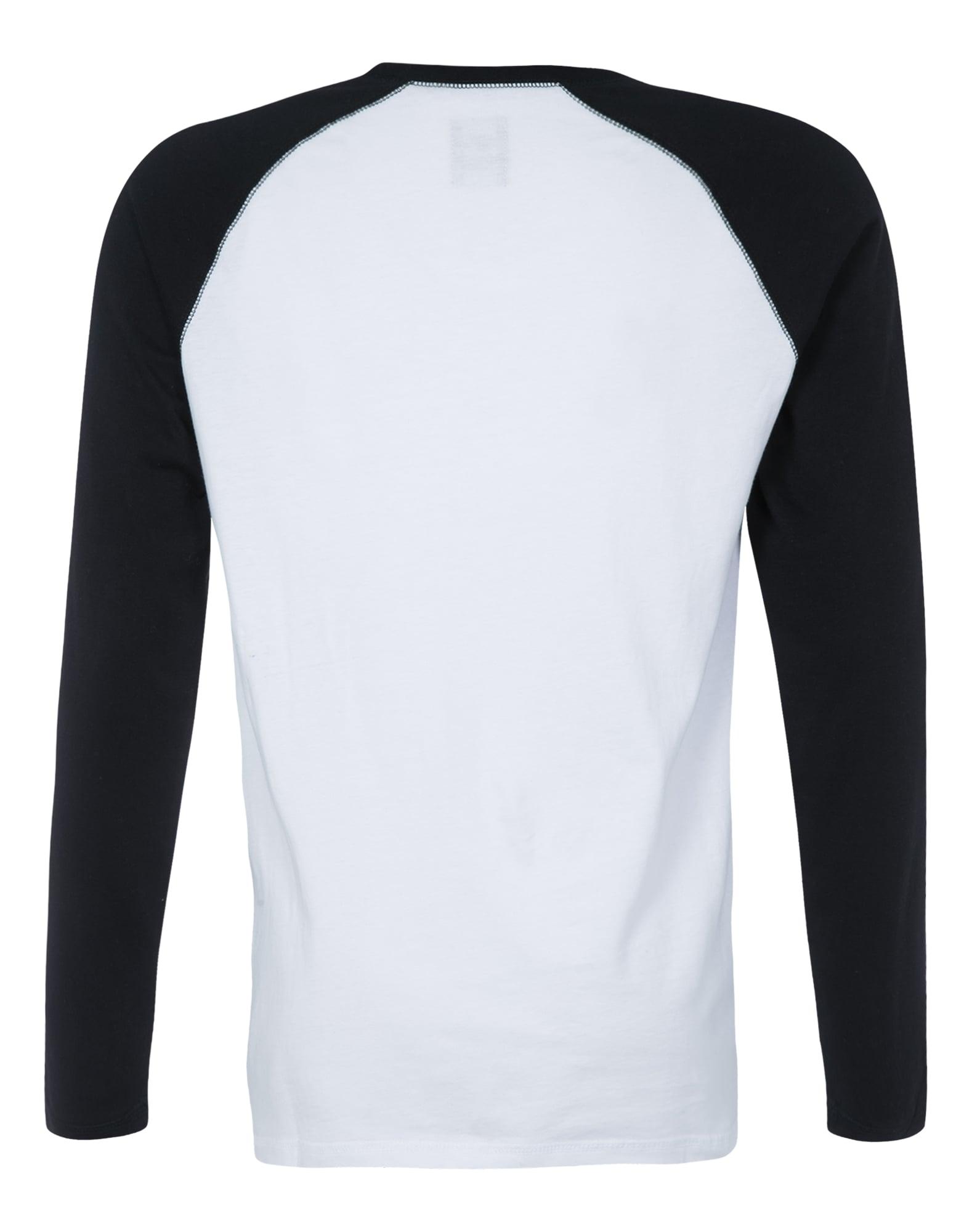 DICKIES, Heren Shirt 'Baseball', zwart - wit