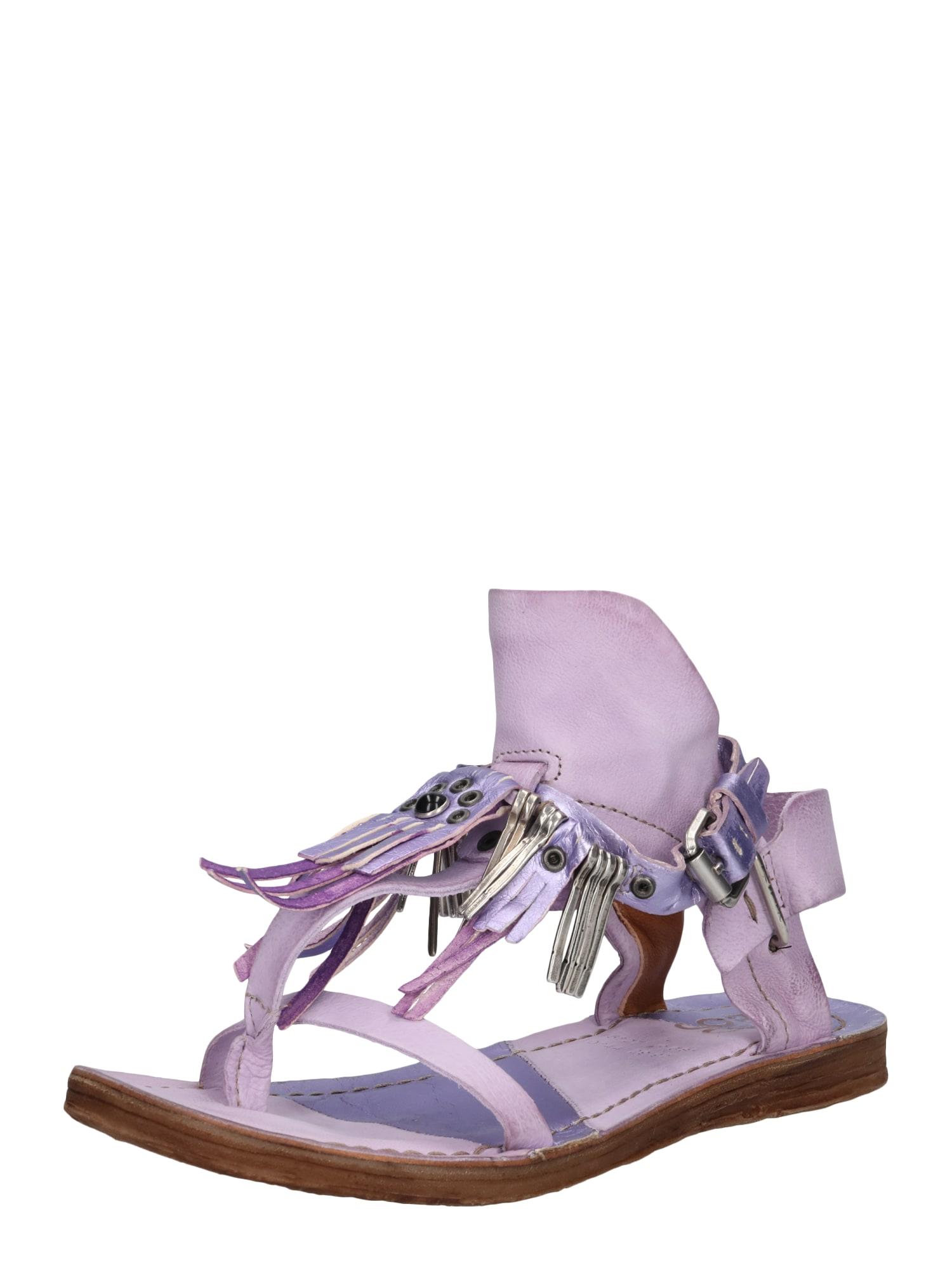 Sandály fialová A.S.98