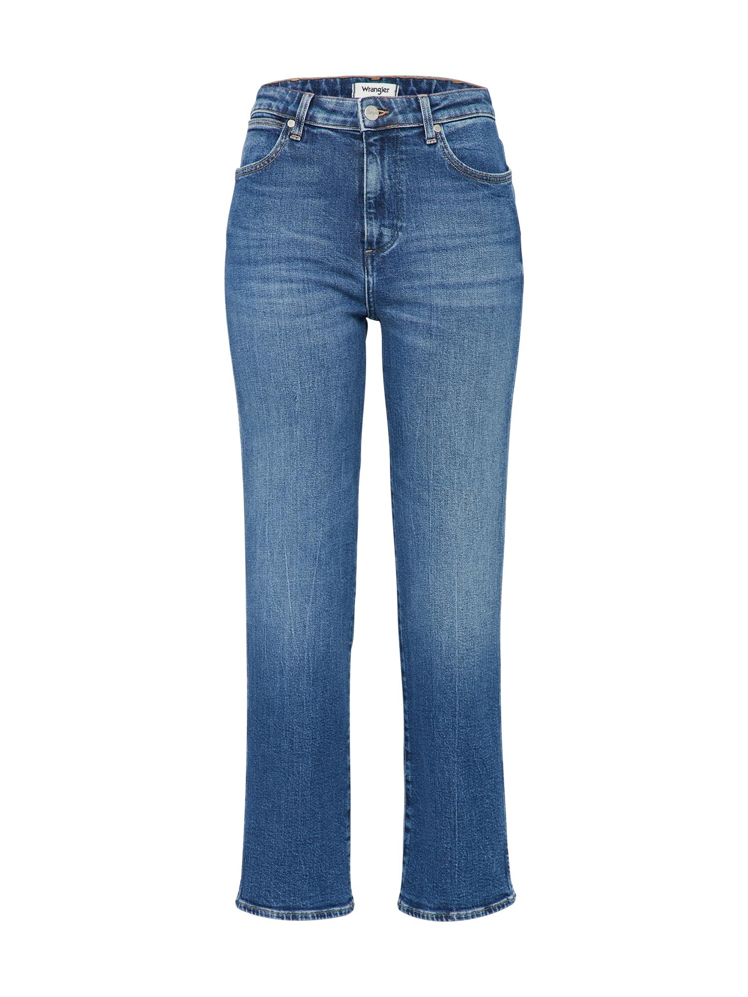 WRANGLER Dames Jeans RETRO blue denim
