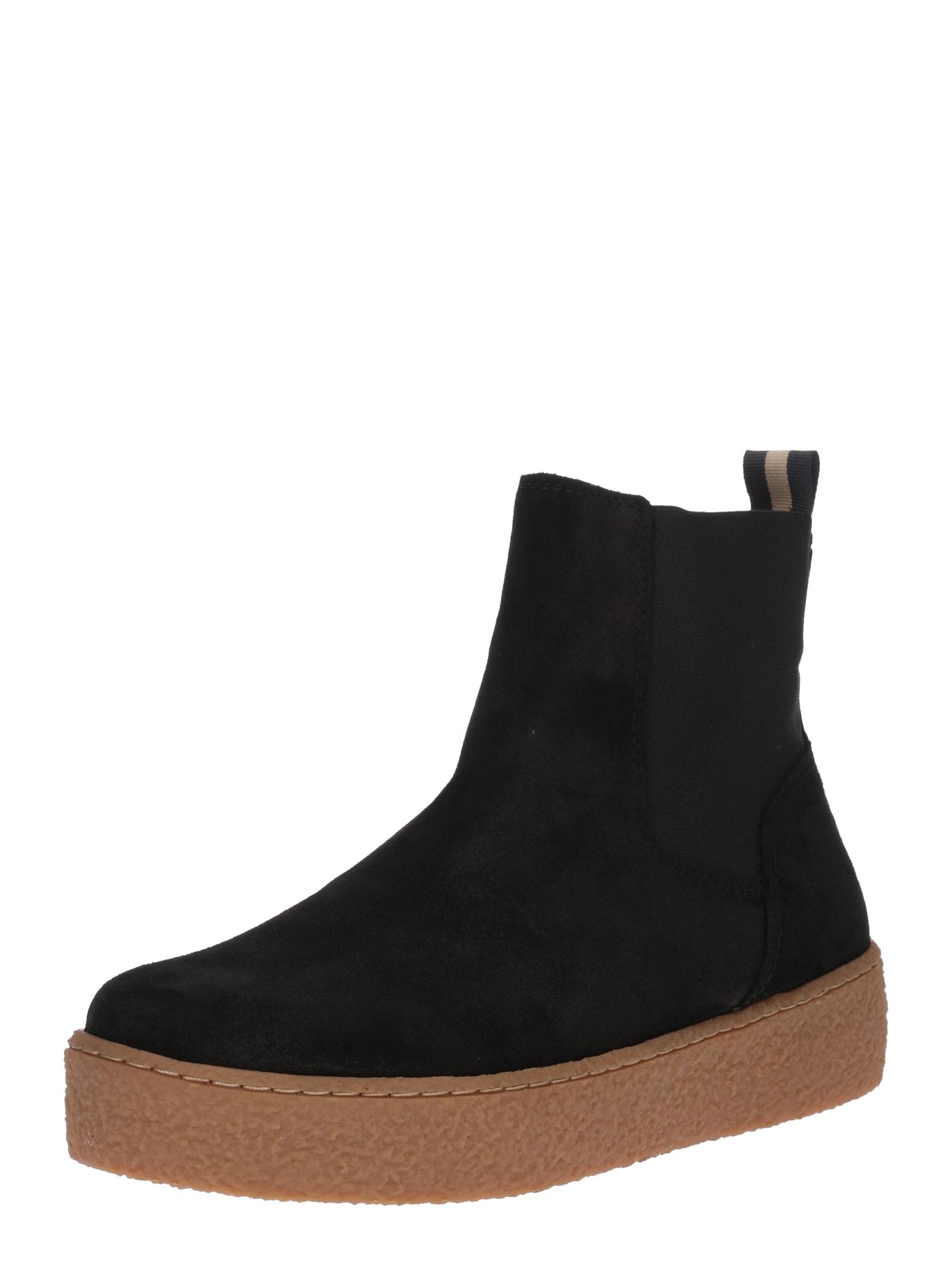 Marc OPolo Chelsea boty hnědá černá Marc O'Polo