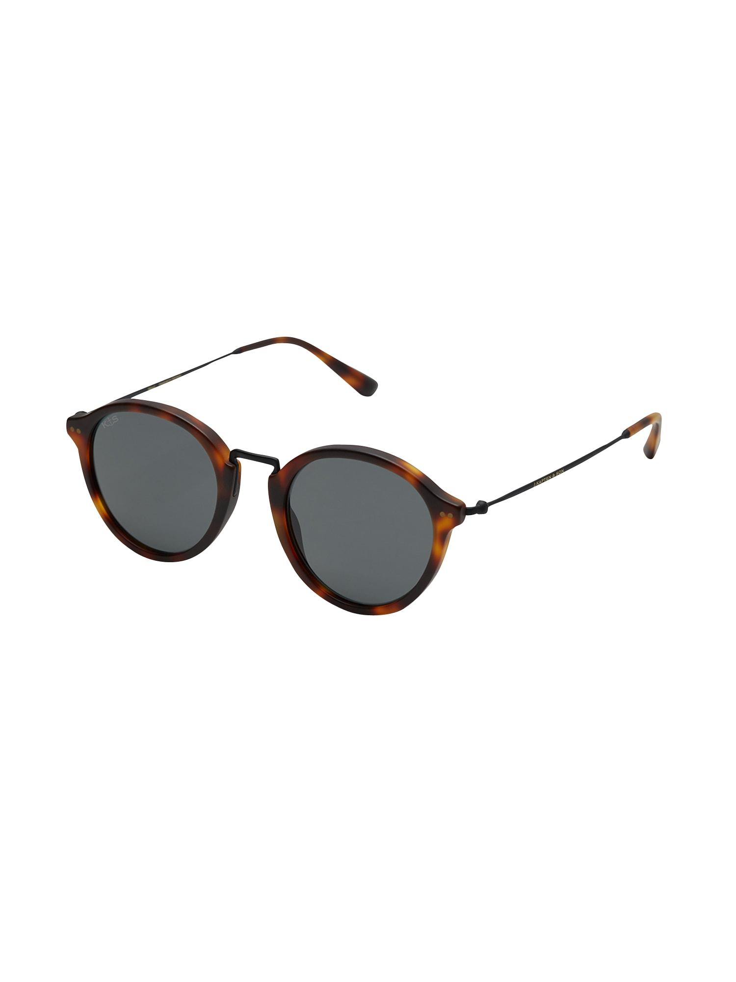 Sluneční brýle Maui hnědá zlatá Kapten & Son