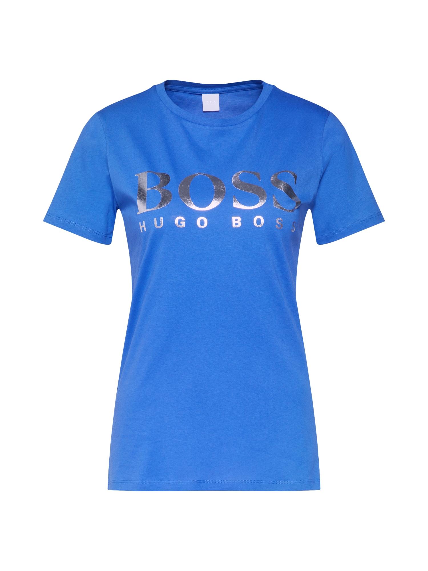 Tričko Teglamour modrá BOSS