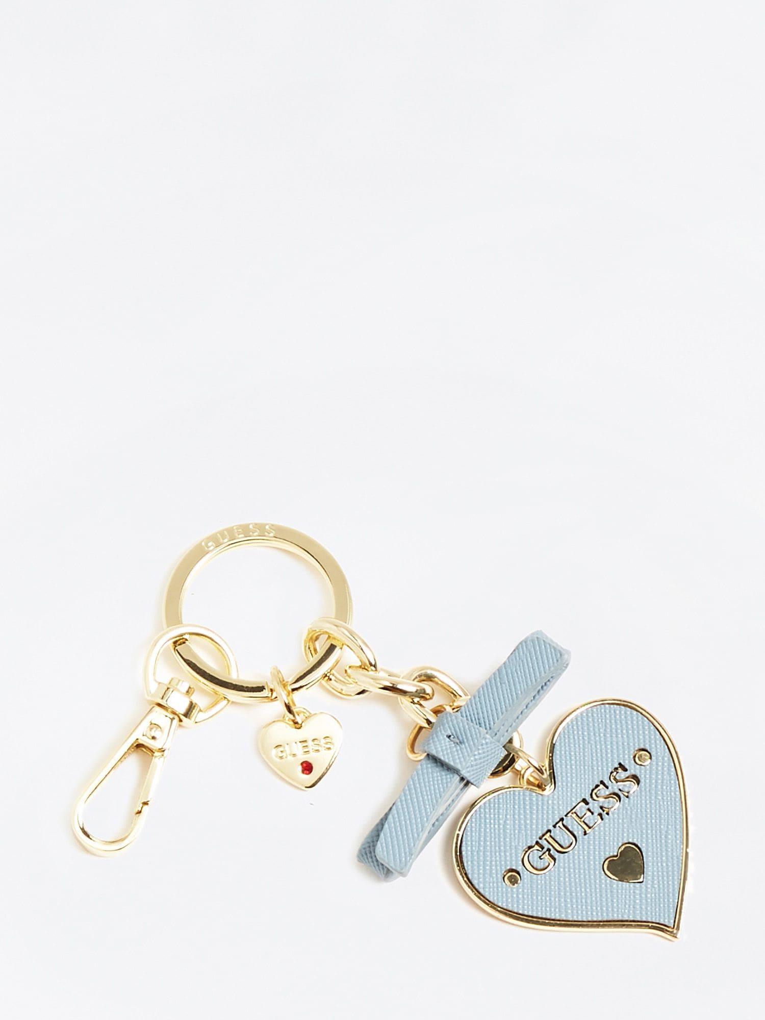 Schlüsselanhänger  'Charm Herz' | Accessoires > Schlüsselanhänger | Hellblau | Guess
