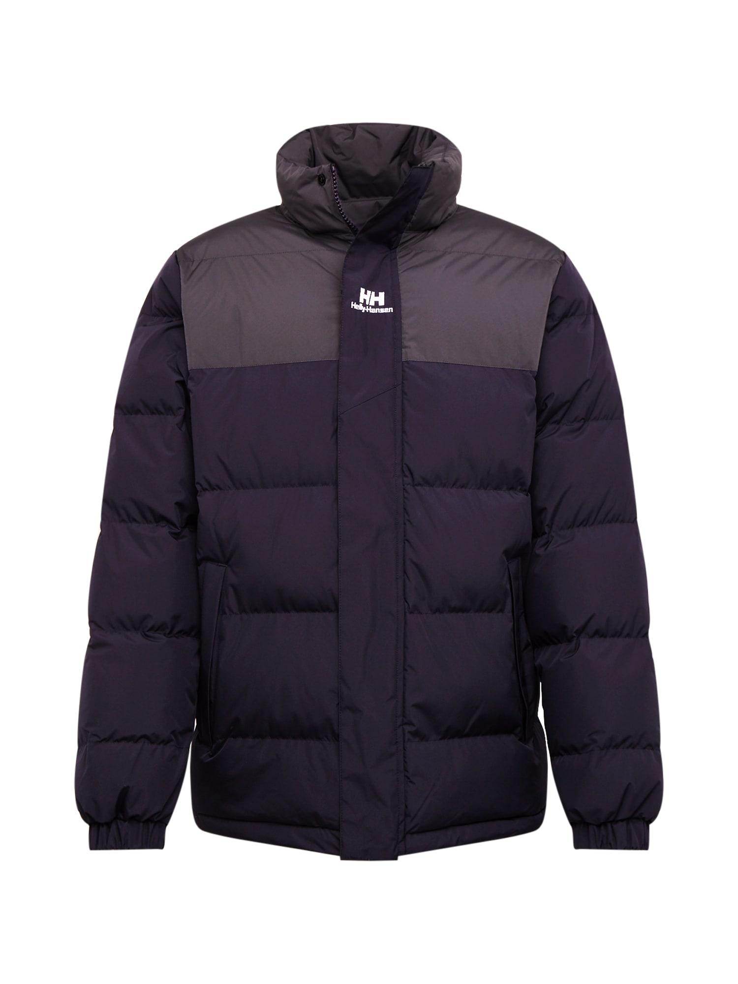 HELLY HANSEN Zimní bunda 'Puffer'  antracitová / černá