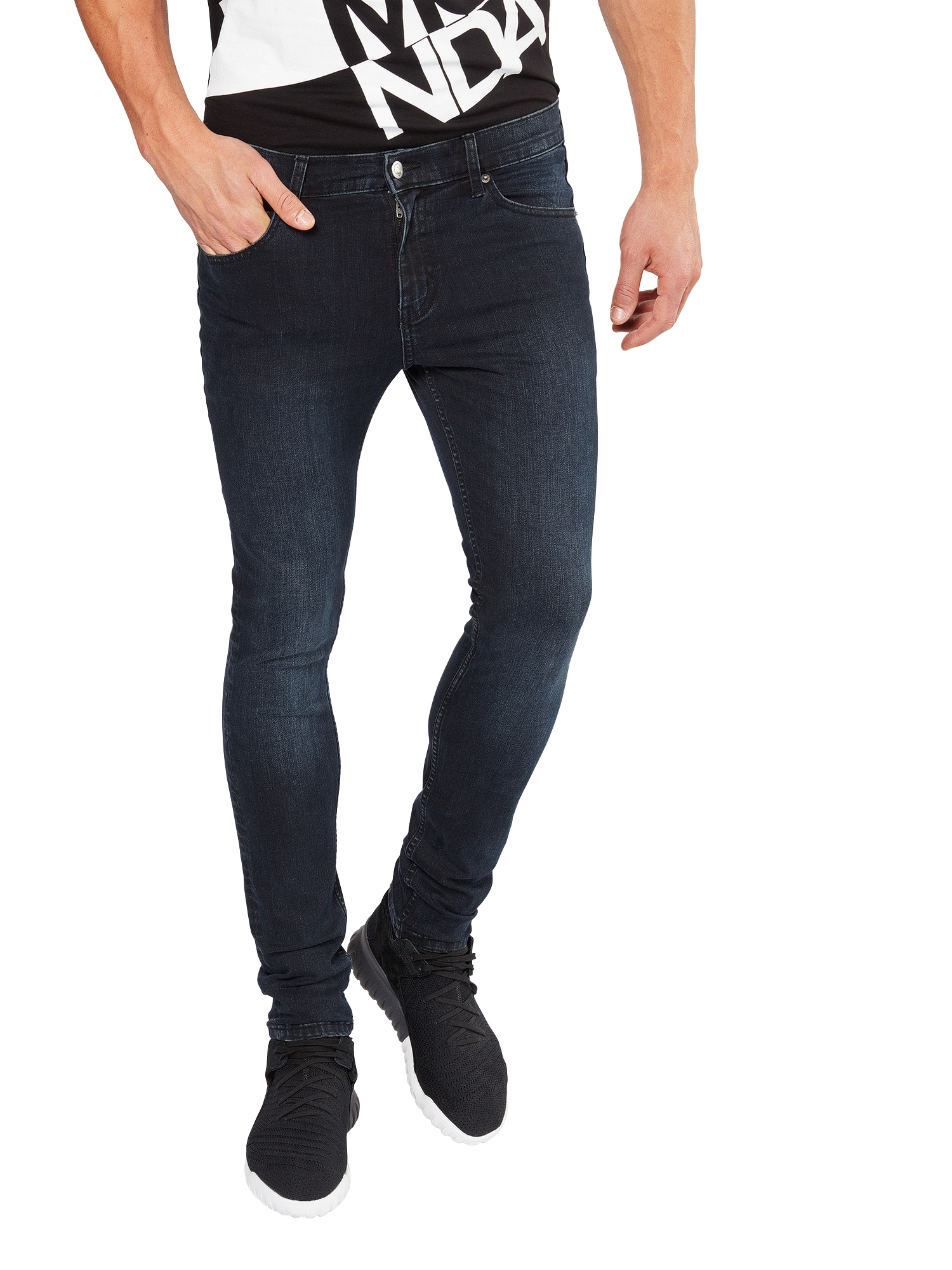 CHEAP MONDAY Heren Jeans donkerblauw
