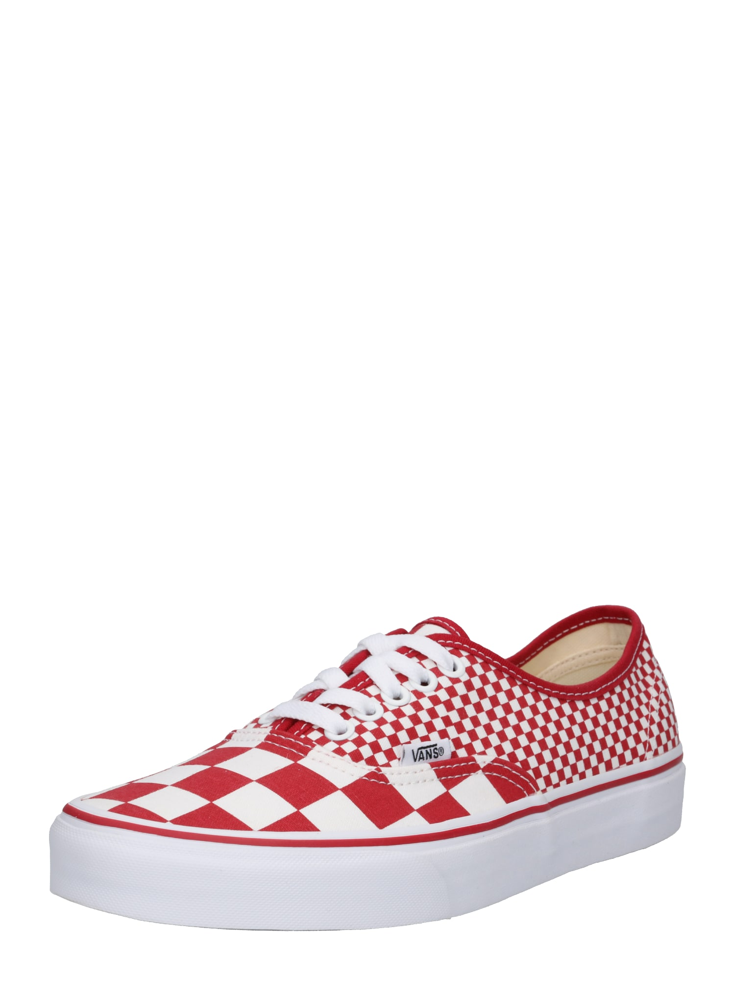 VANS, Heren Sneakers laag 'UA Authentic', rood / wit