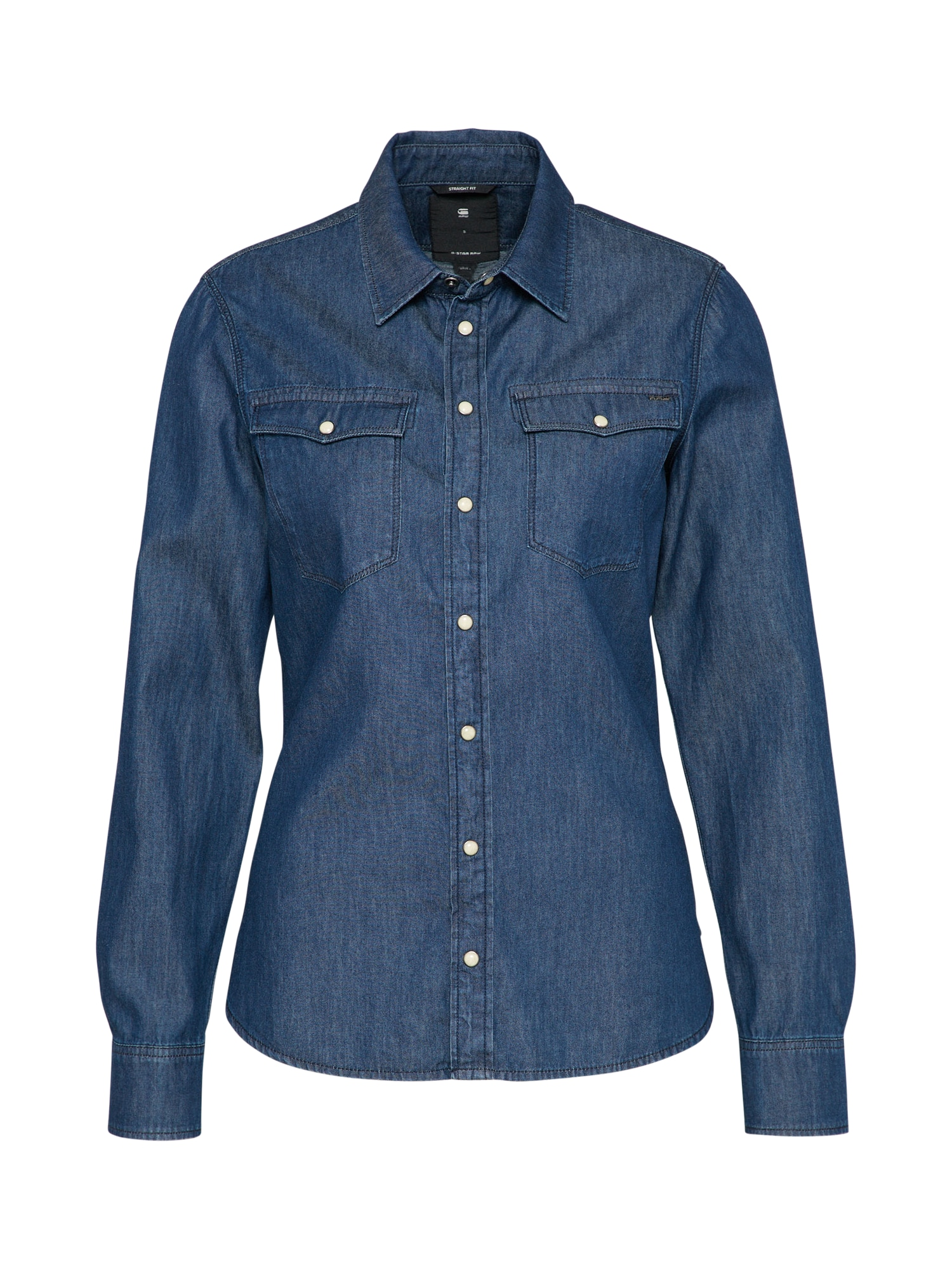 G-STAR RAW Dames Blouse 3301 blue denim