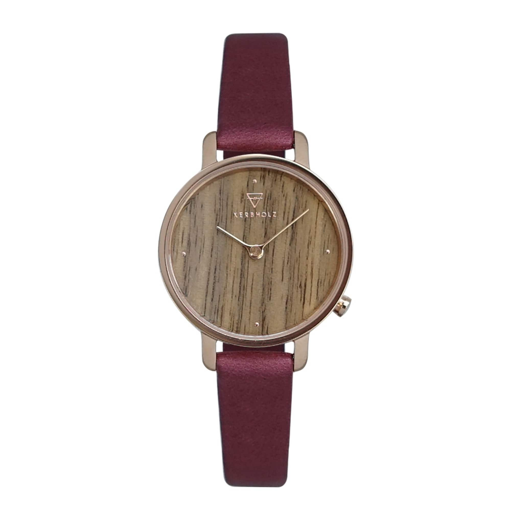 Armbanduhr 'Emma' | Uhren > Sonstige Armbanduhren | Kerbholz
