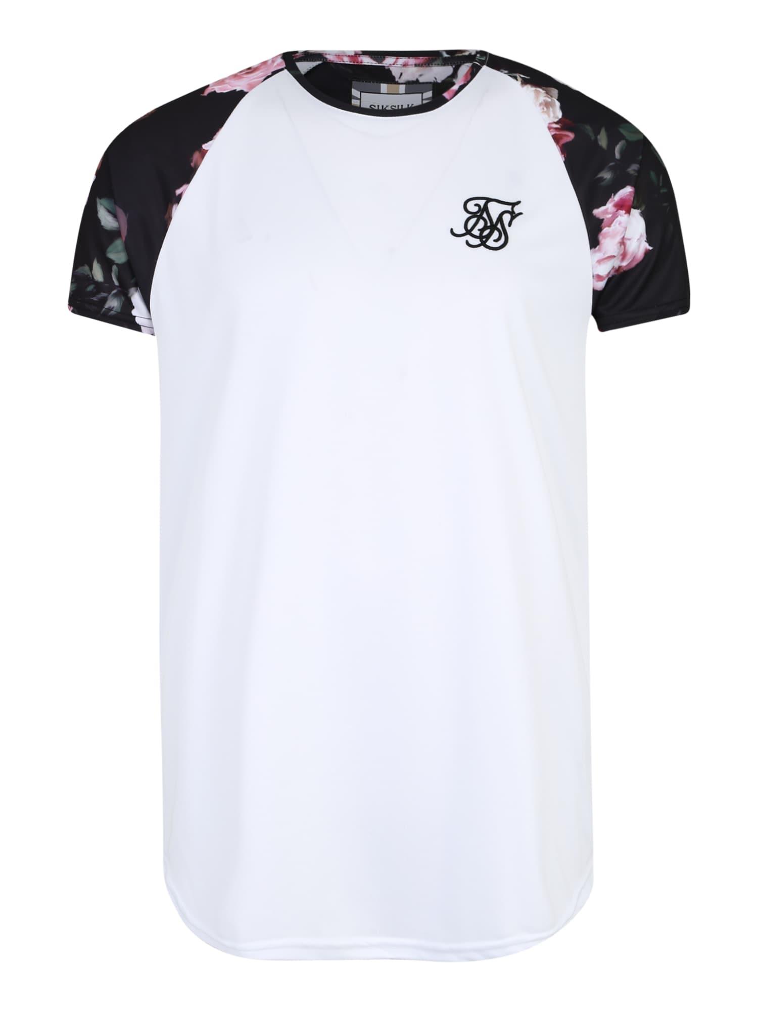 Tričko mix barev bílá SikSilk