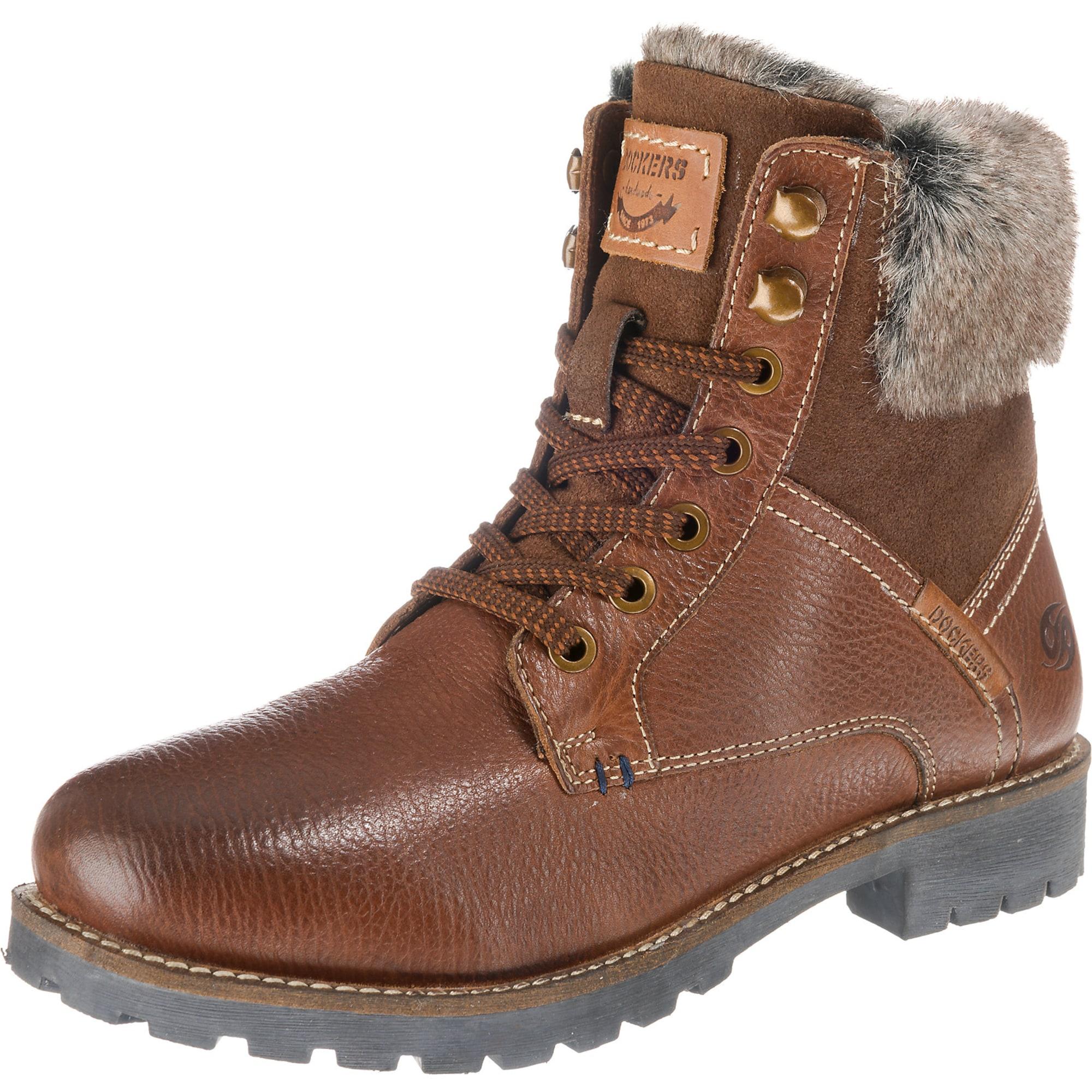 Winterstiefeletten | Schuhe > Stiefeletten > Winterstiefeletten | Braun | Dockers By Gerli