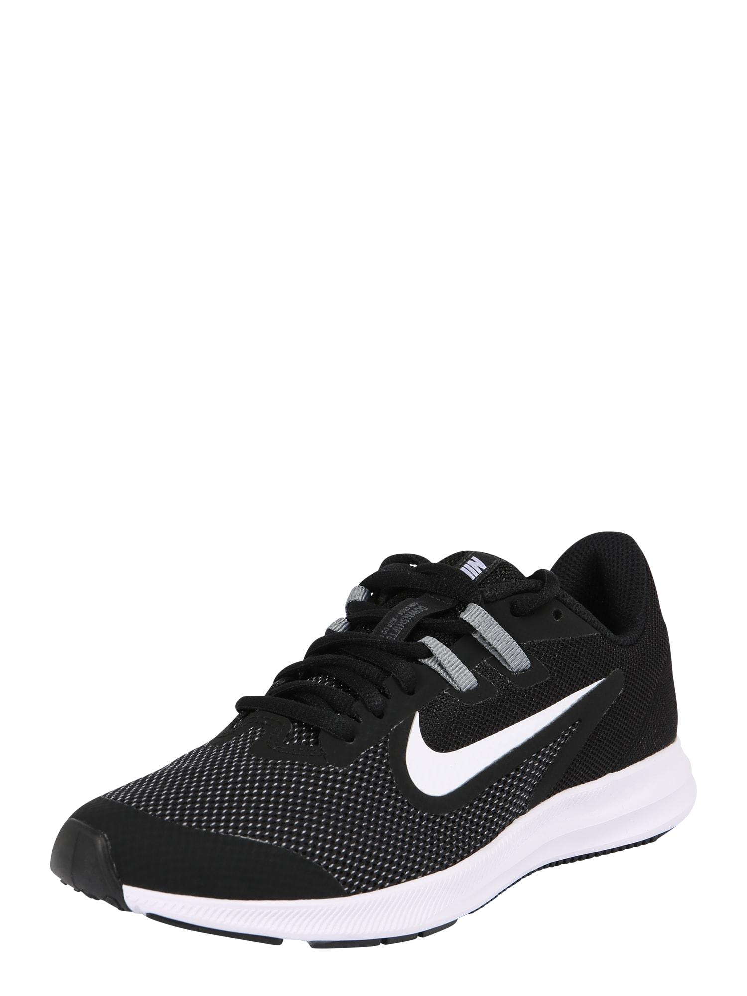 Sportovní boty Nike Downshifter 9 šedá černá bílá NIKE