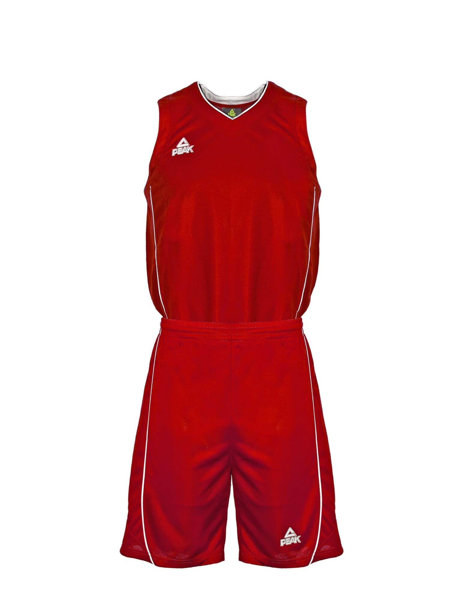 Trikot-Set | Bekleidung > Jacken > Trainingsjacken | Rot - Weiß | Peak