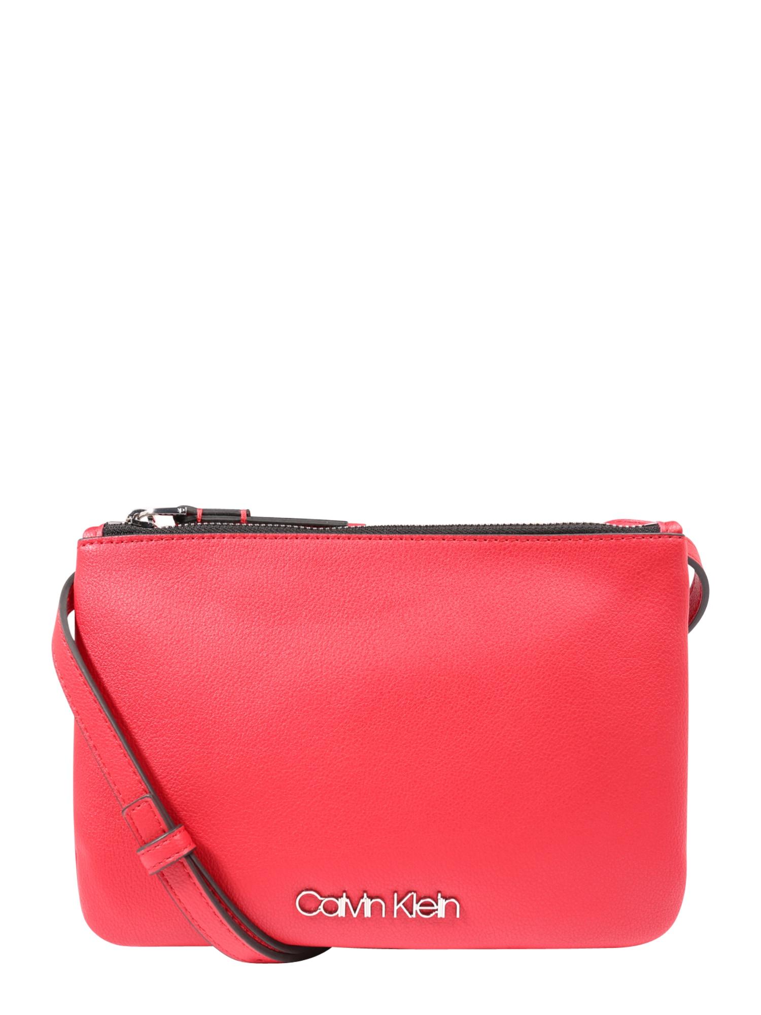 Taška přes rameno CK MUST EW CROSSBODY červená Calvin Klein