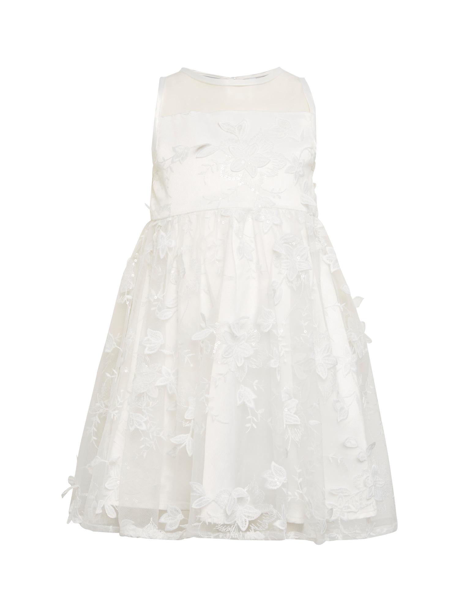 Šaty Nelly Dress přírodní bílá Chi Chi Girls
