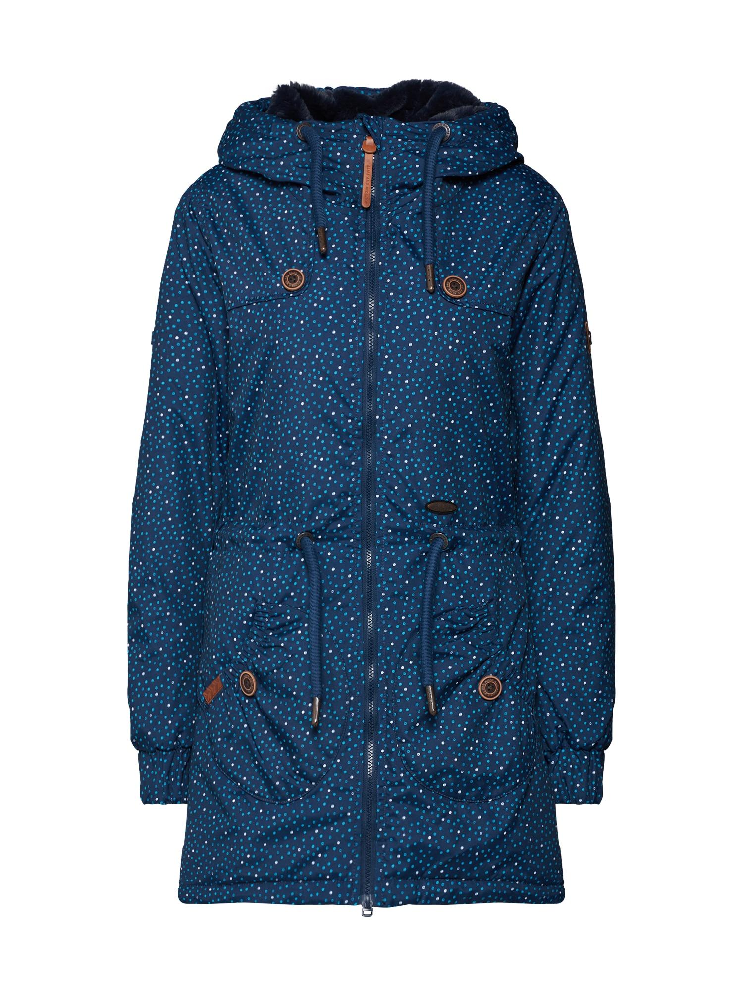 Zimní bunda CHARLOTTE marine modrá Alife And Kickin