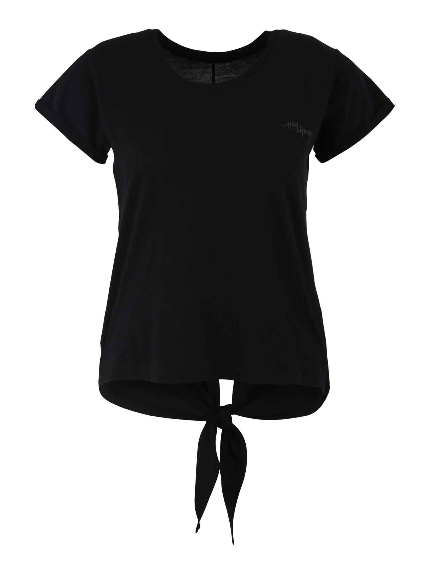 Funkční tričko Knot černá Hey Honey