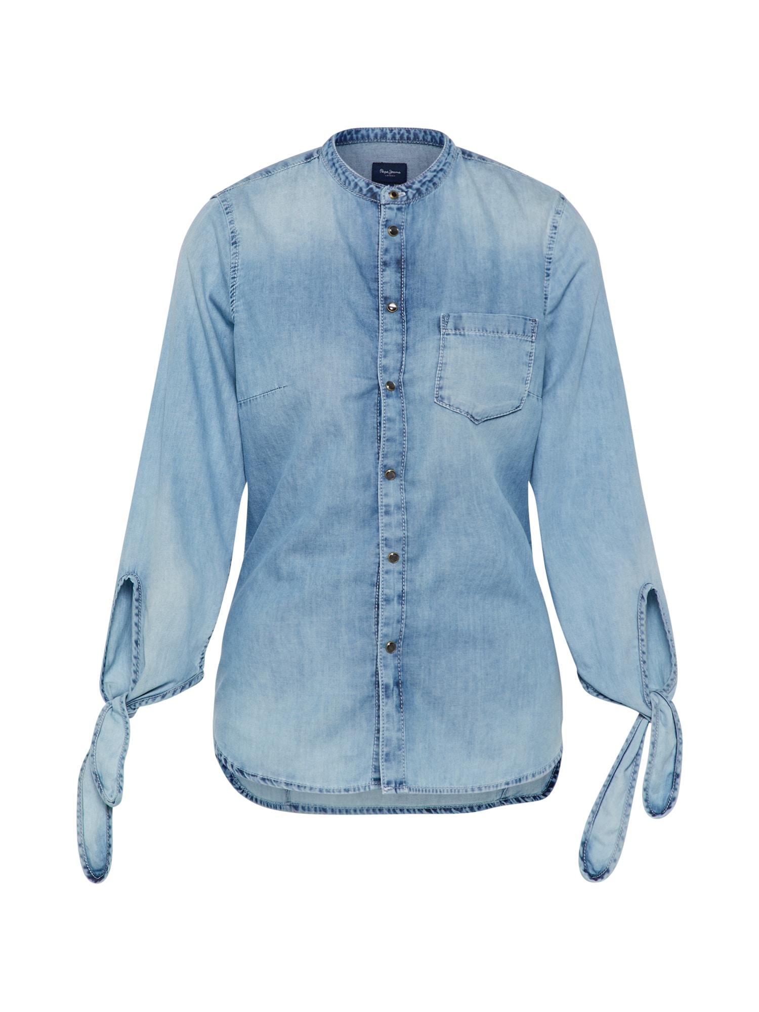 Pepe Jeans Dames Blouse ELLEN blue denim