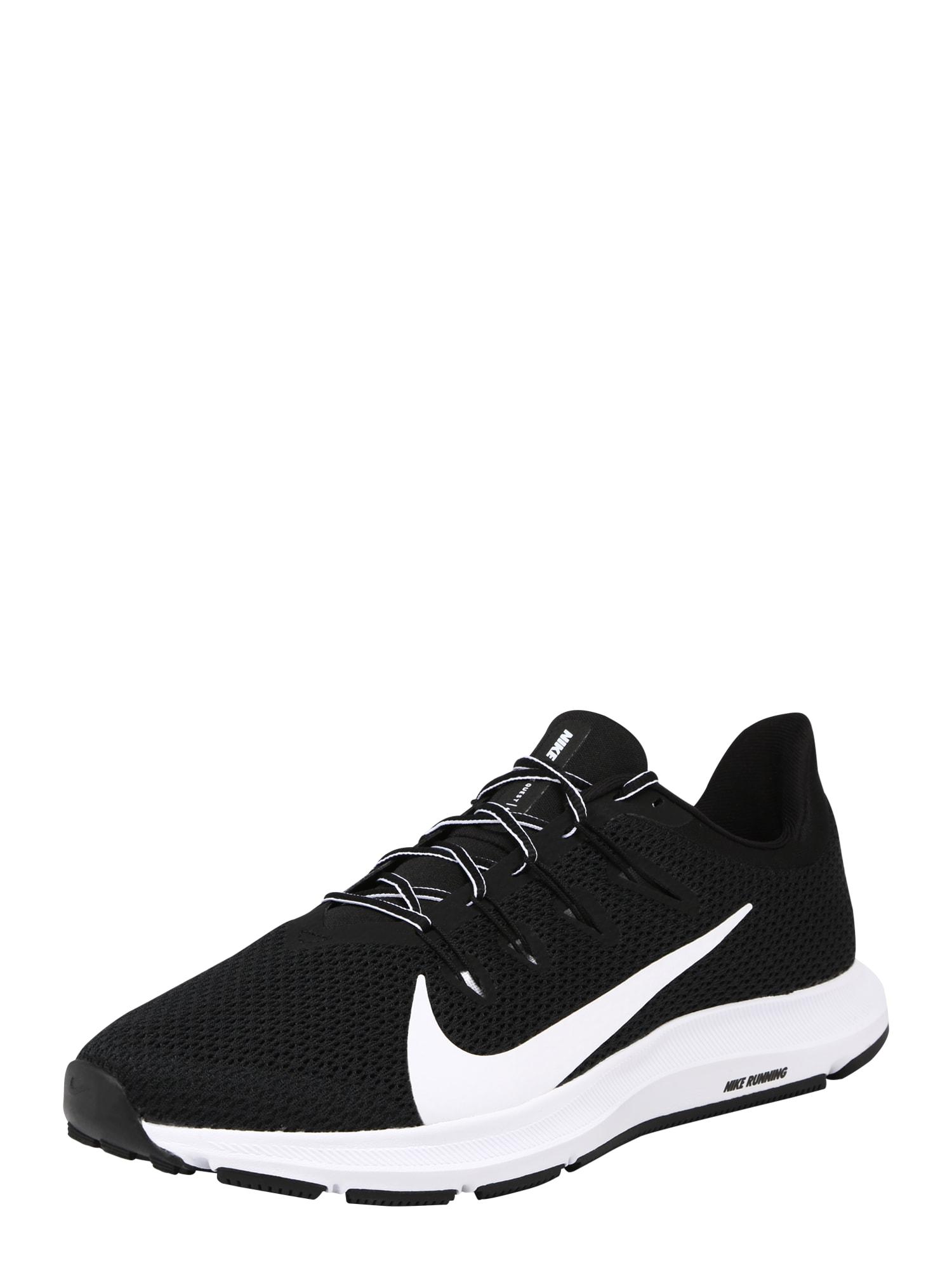 Běžecká obuv QUEST 2 černá bílá NIKE