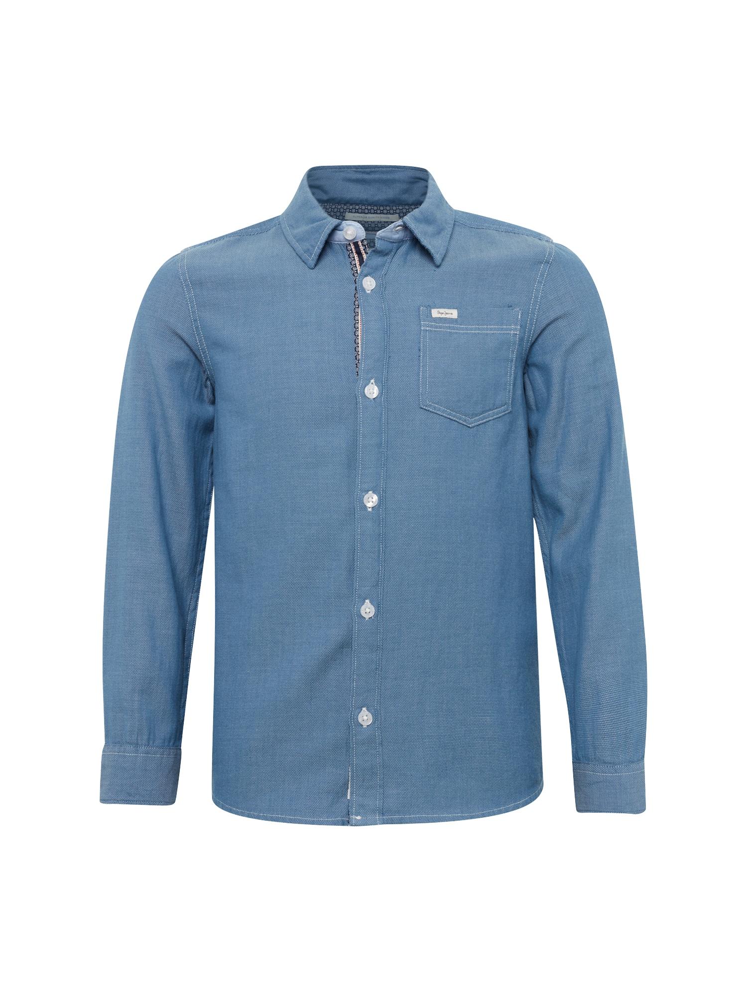 Pepe Jeans Jongens Overhemd MAISON JR blue denim